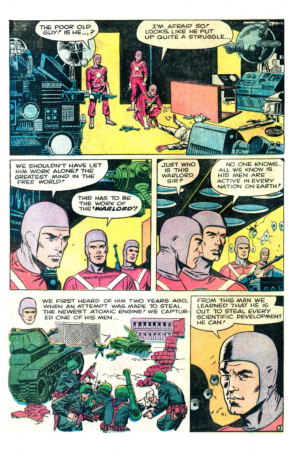 T.H.U.N.D.E.R. Agents (1965) issue 17 - Page 3