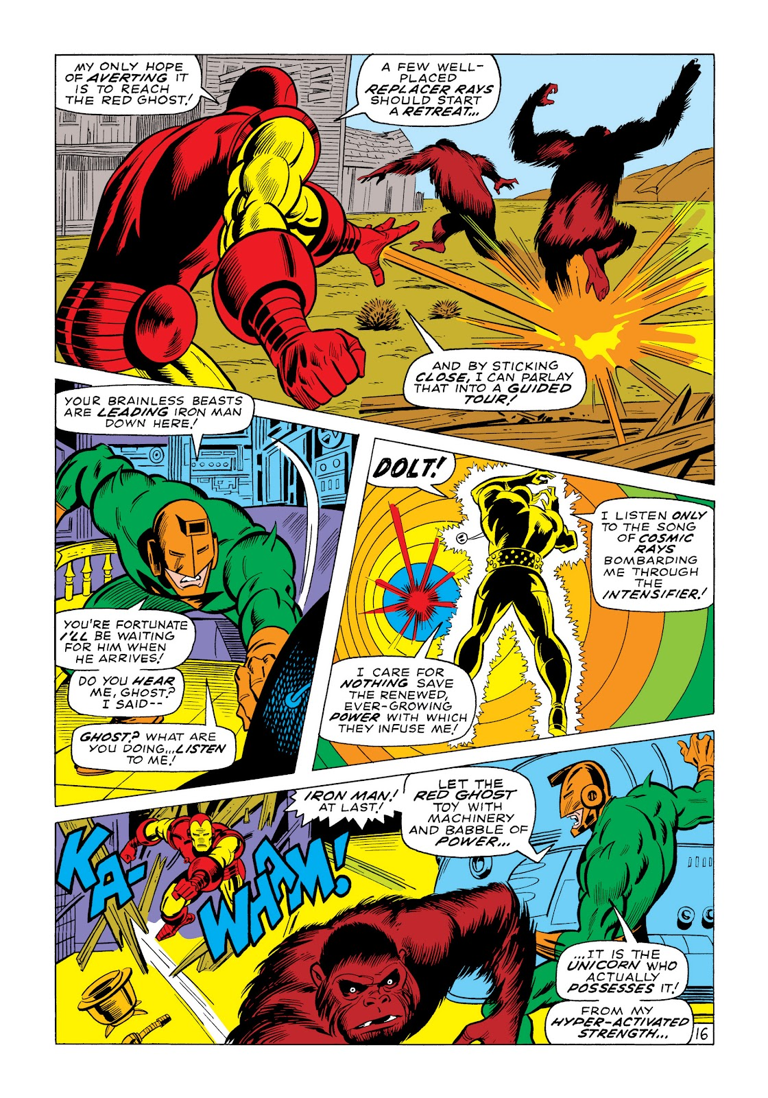 Read online Marvel Masterworks: The Invincible Iron Man comic -  Issue # TPB 6 (Part 1) - 43