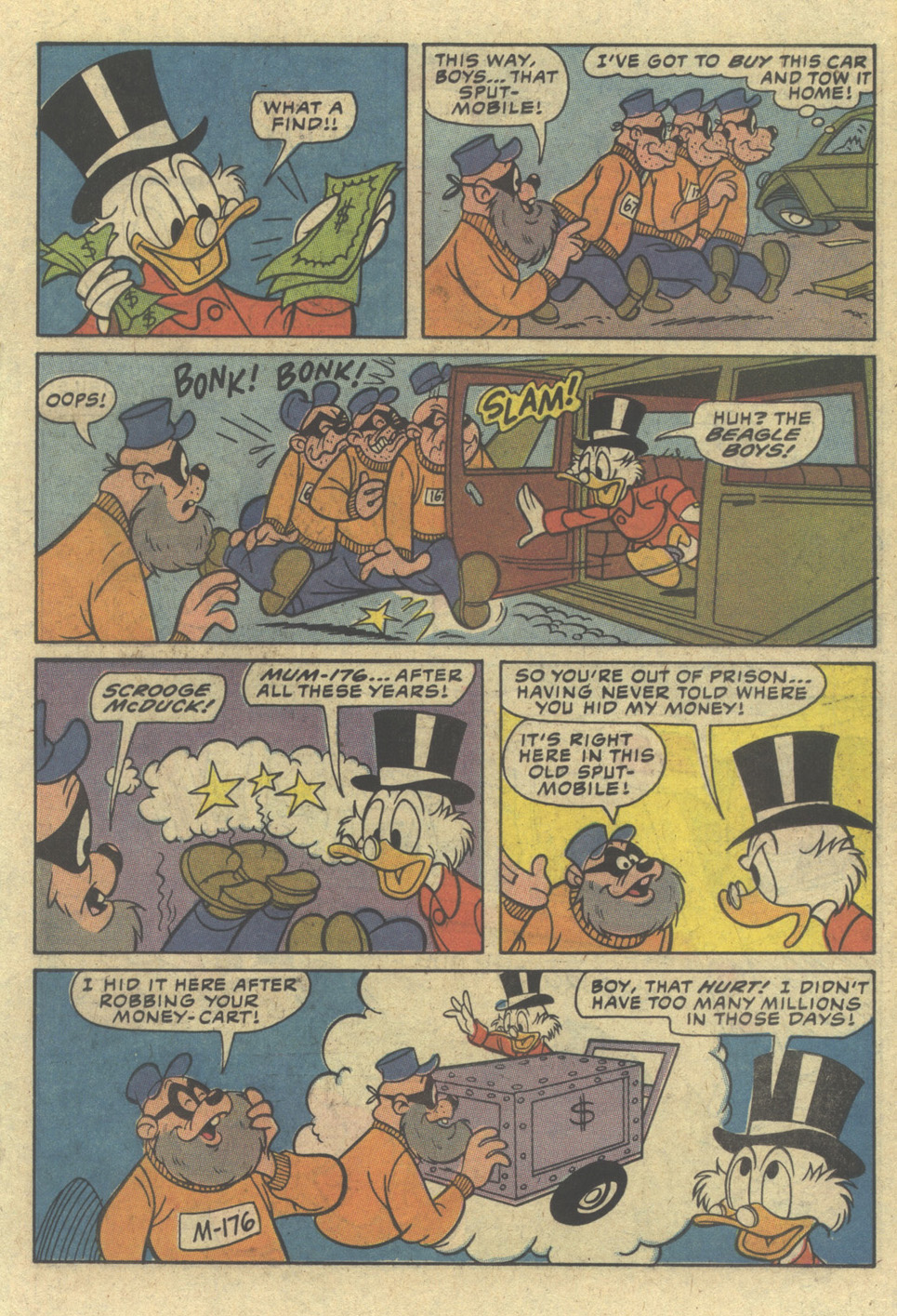 Read online Uncle Scrooge (1953) comic -  Issue #204 - 19