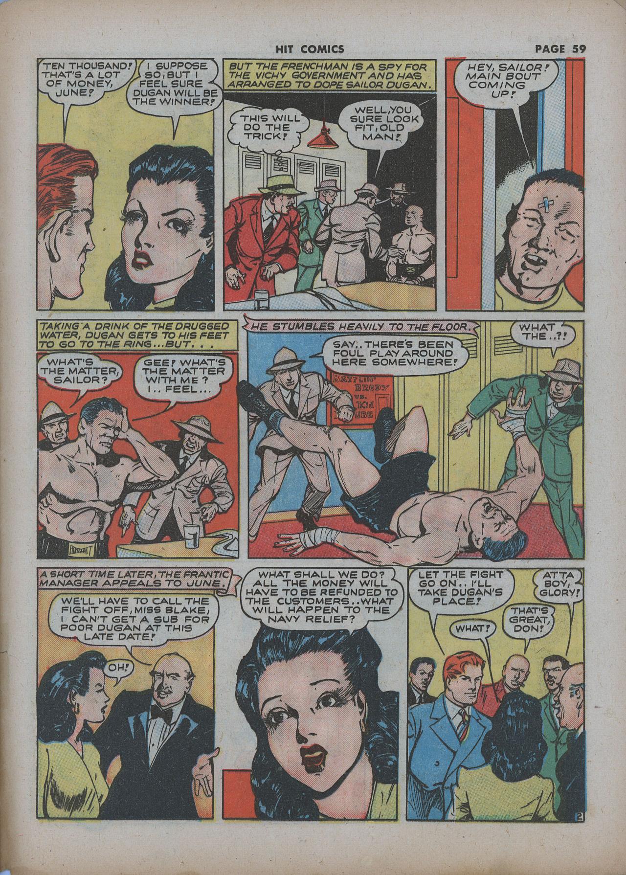 Read online Hit Comics comic -  Issue #22 - 61