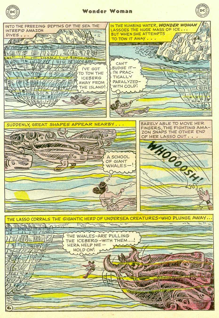 Read online Wonder Woman (1942) comic -  Issue #96 - 20