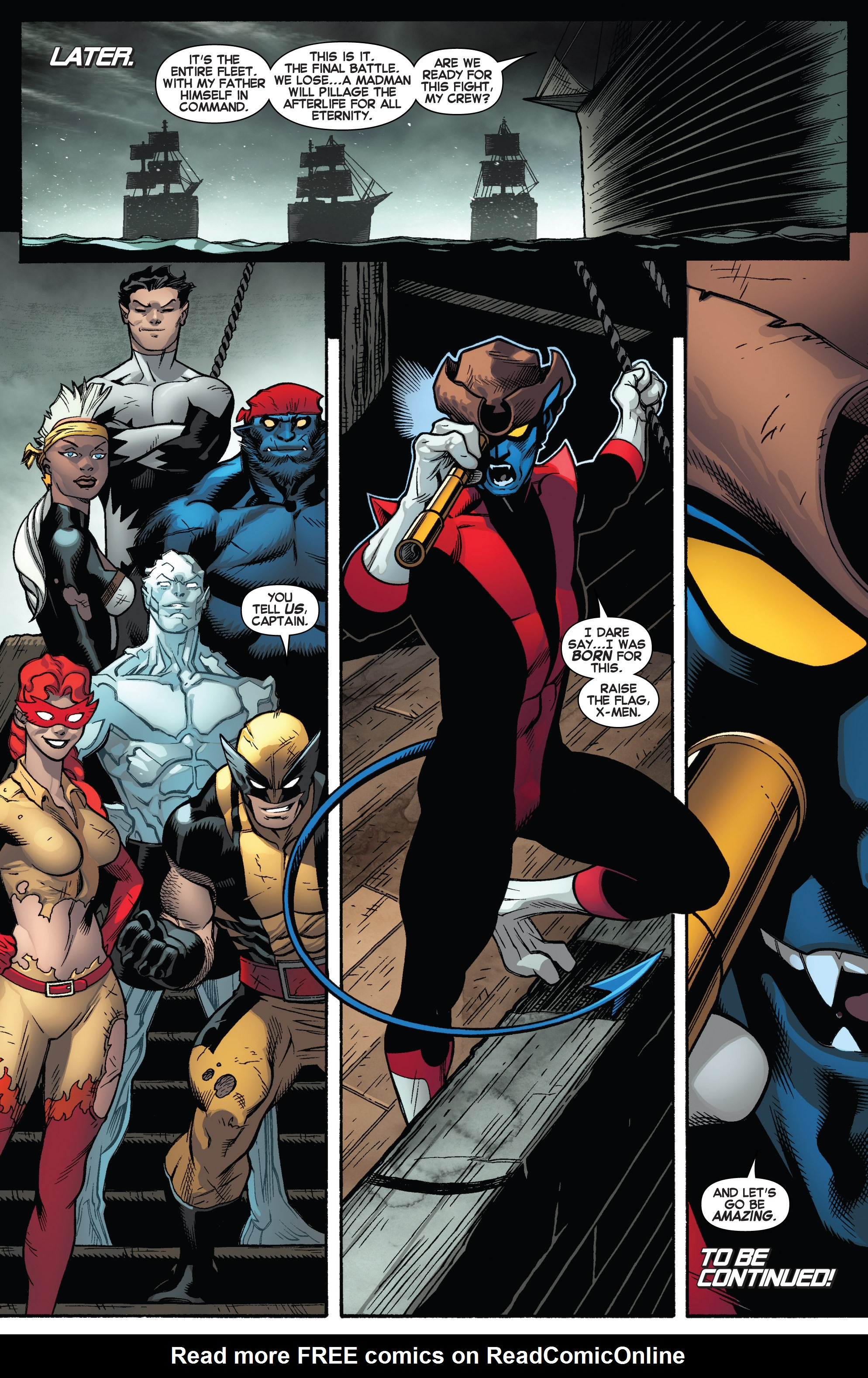 Read online Amazing X-Men (2014) comic -  Issue #4 - 22