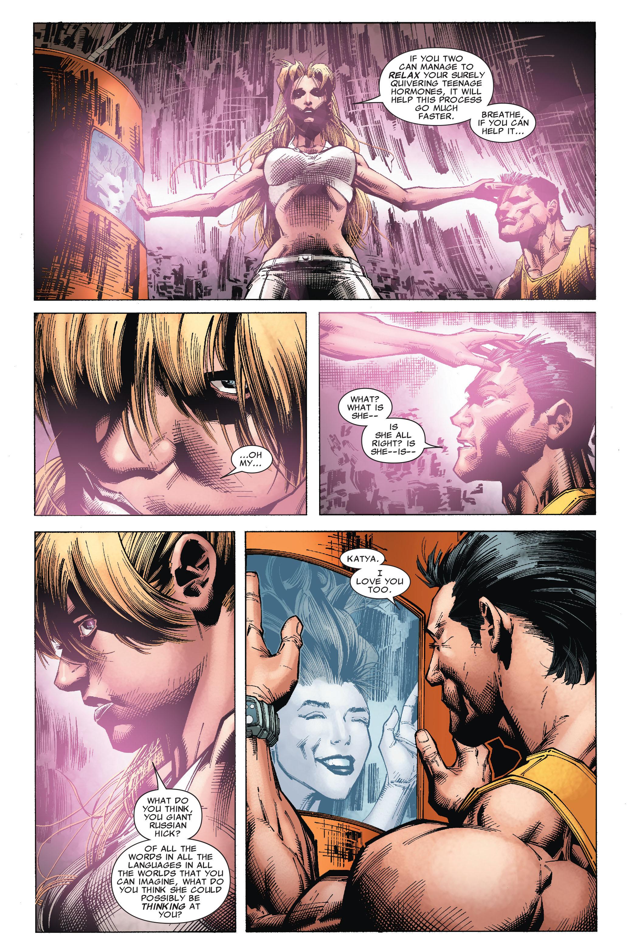 Read online Uncanny X-Men (1963) comic -  Issue #527 - 16
