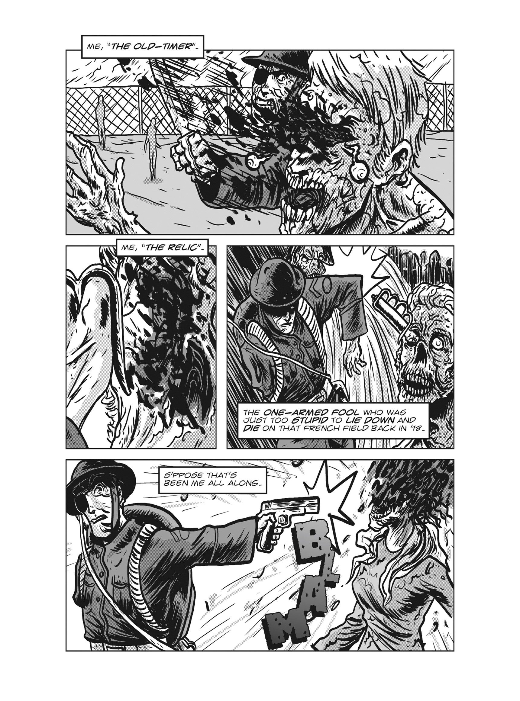 Read online FUBAR comic -  Issue #3 - 269