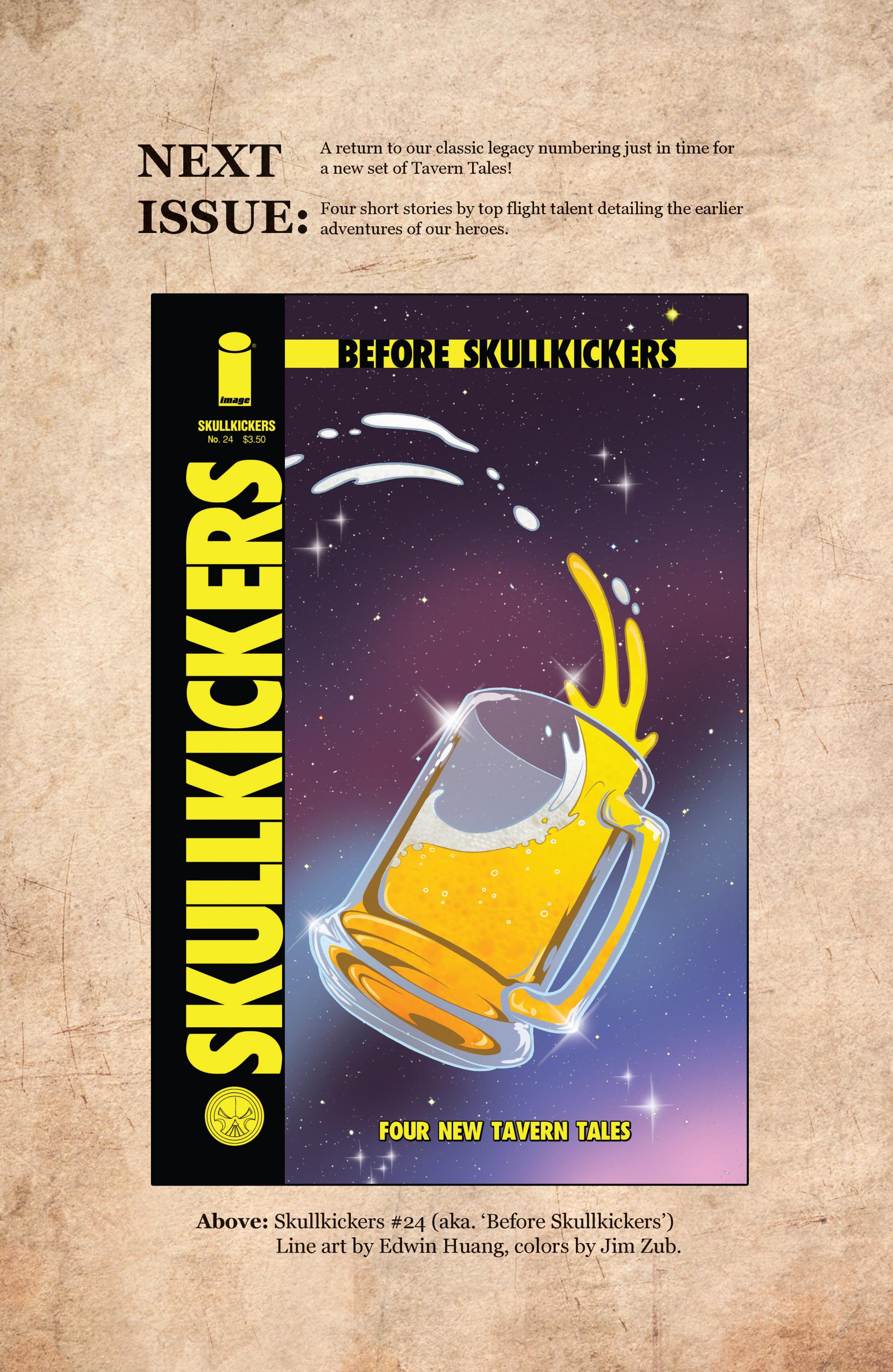 Read online Skullkickers comic -  Issue #23 - 24