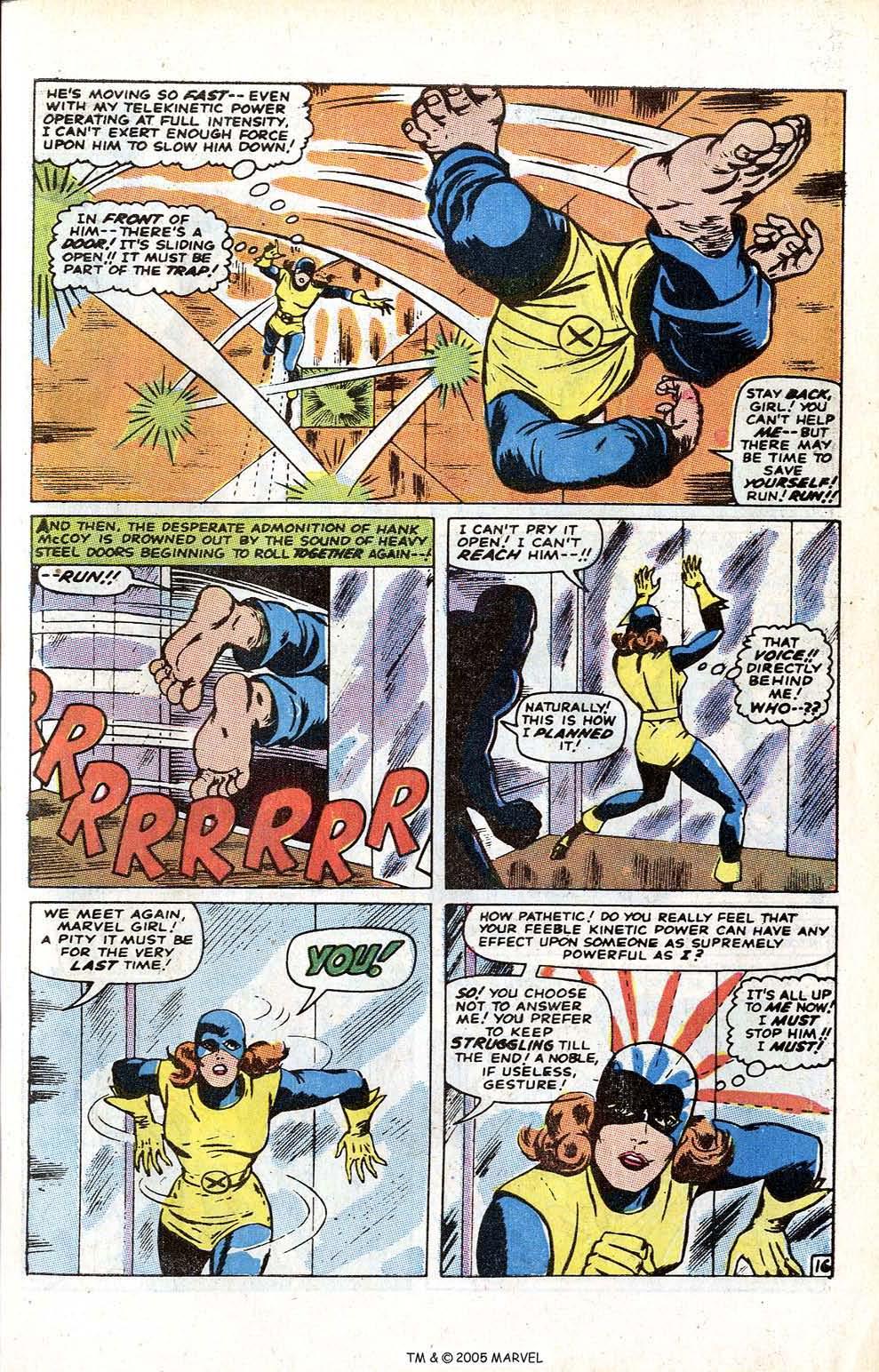 Uncanny X-Men (1963) issue 70 - Page 21