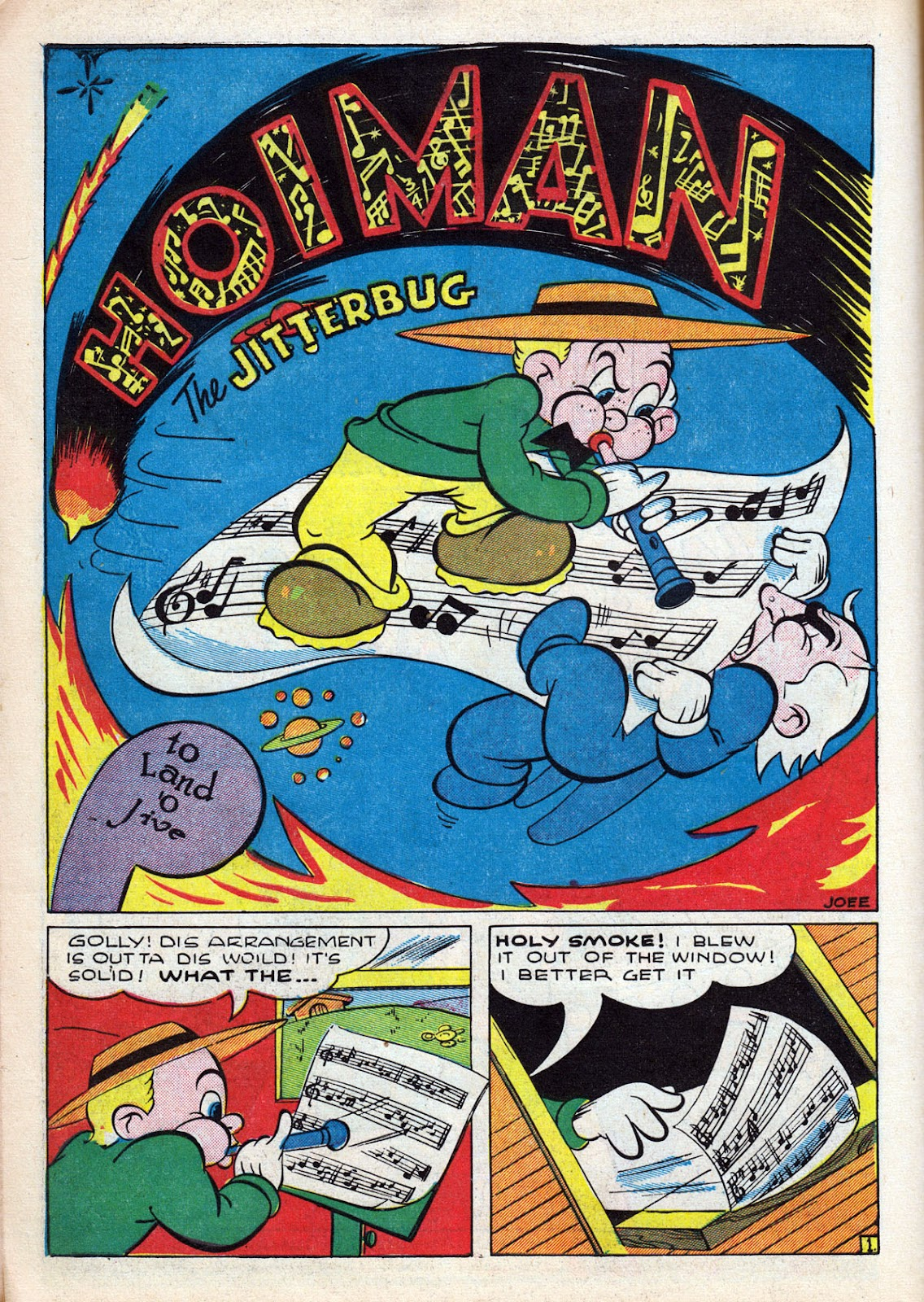 Read online Comedy Comics (1942) comic -  Issue #12 - 18