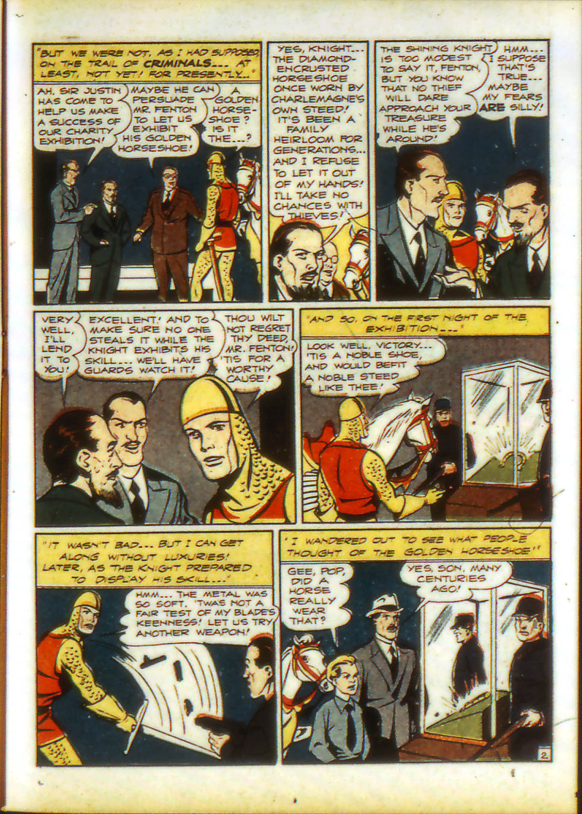 Read online Adventure Comics (1938) comic -  Issue #89 - 21