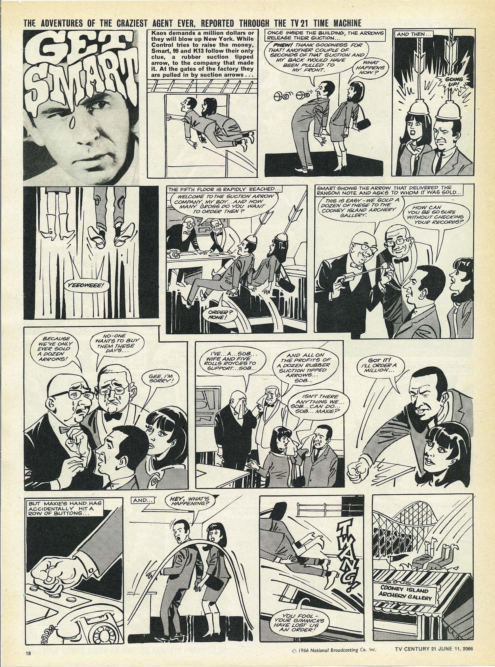 Read online TV Century 21 (TV 21) comic -  Issue #73 - 17