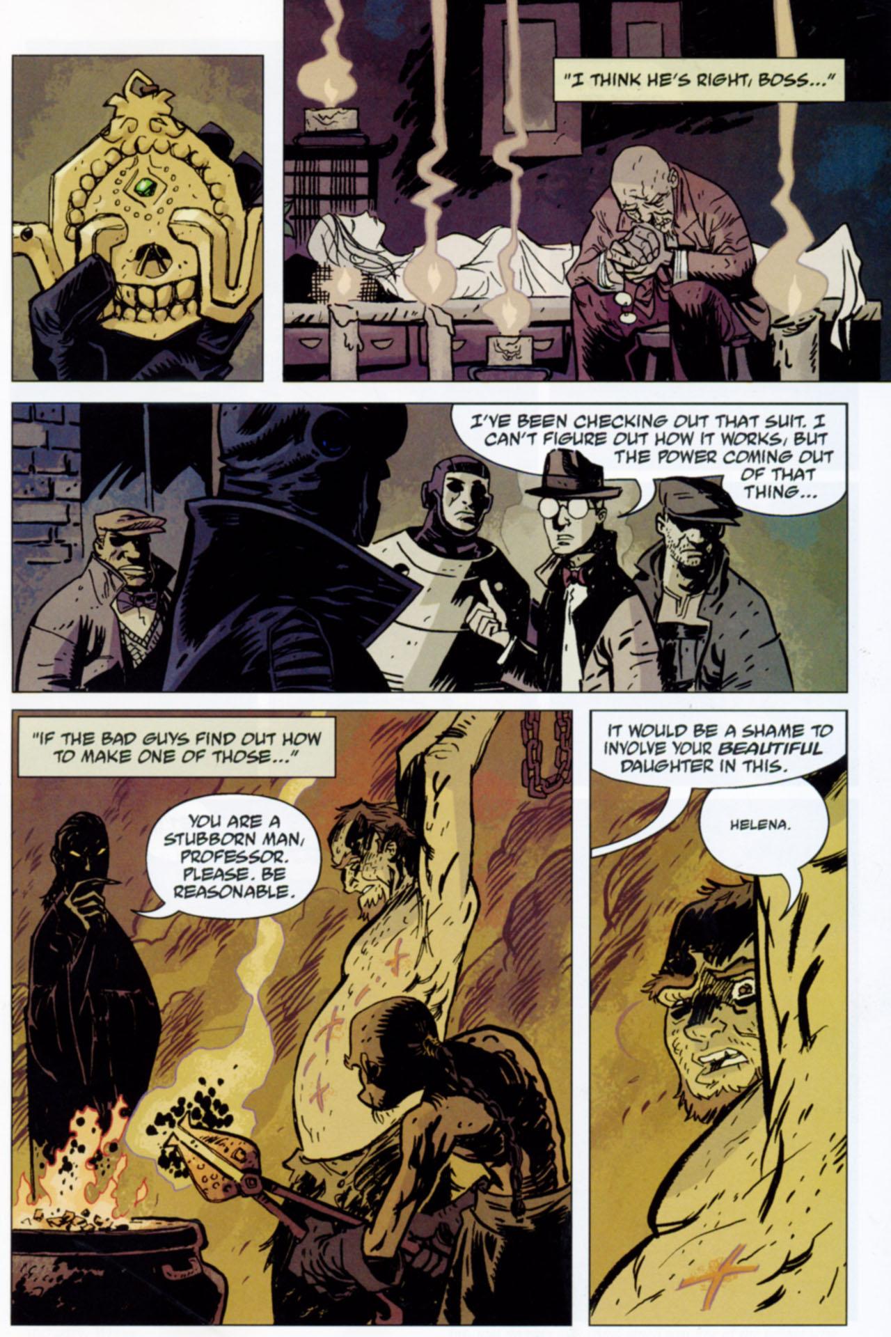 Read online Lobster Johnson: The Iron Prometheus comic -  Issue #1 - 25
