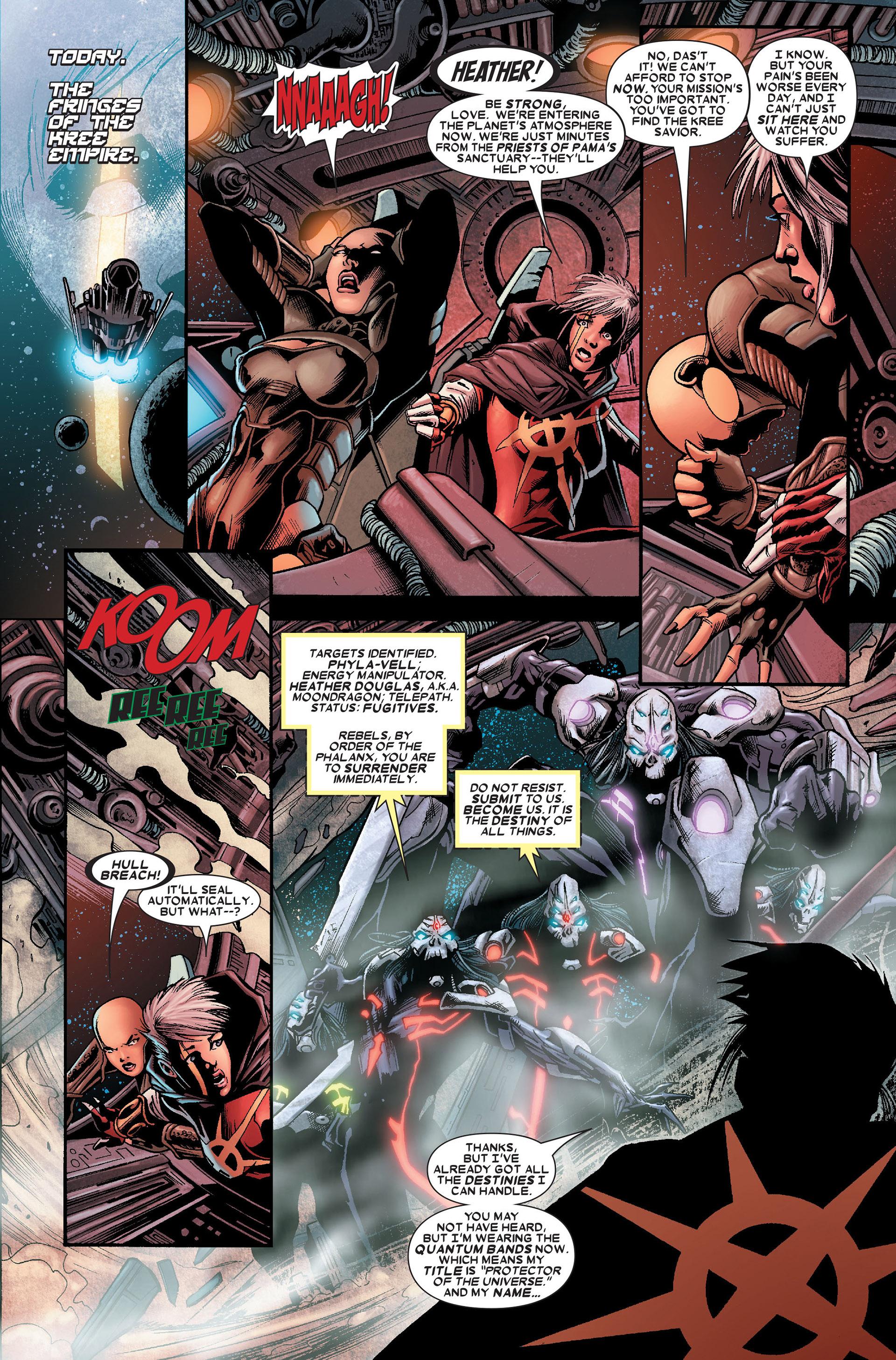 Read online Annihilation: Conquest - Quasar comic -  Issue #1 - 4