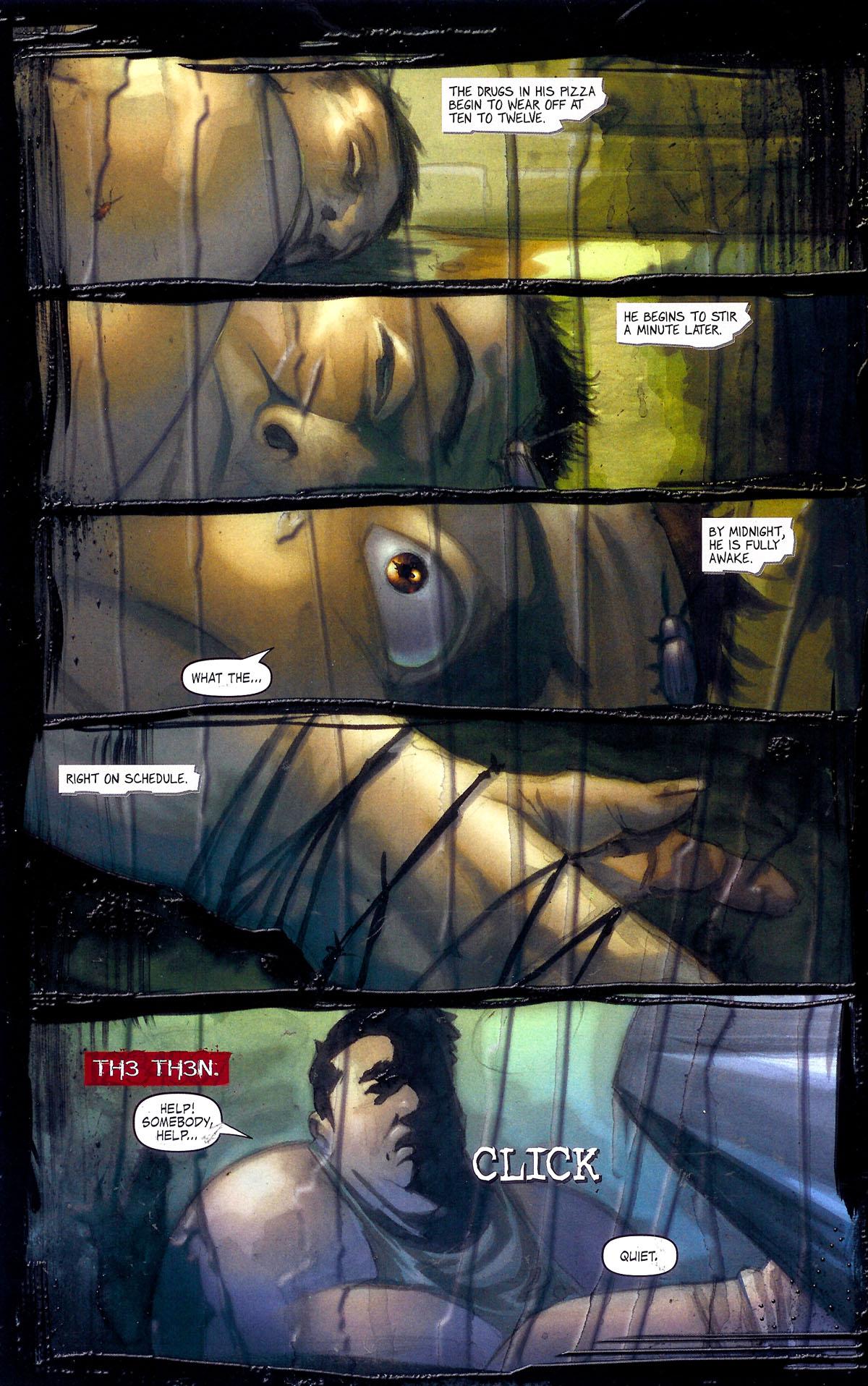 Read online Se7en comic -  Issue #1 - 25