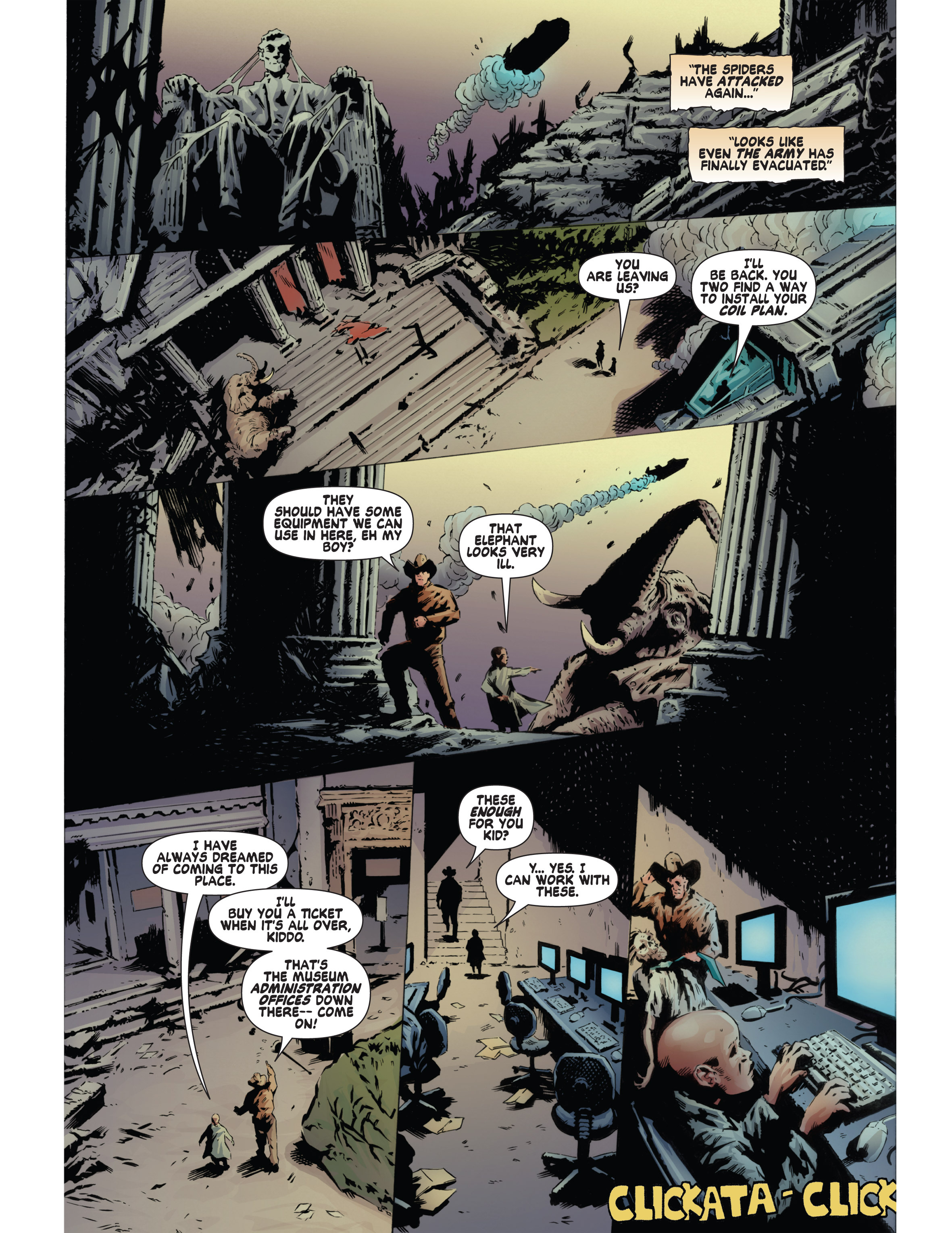 Read online Bad Planet comic -  Issue # TPB - 124