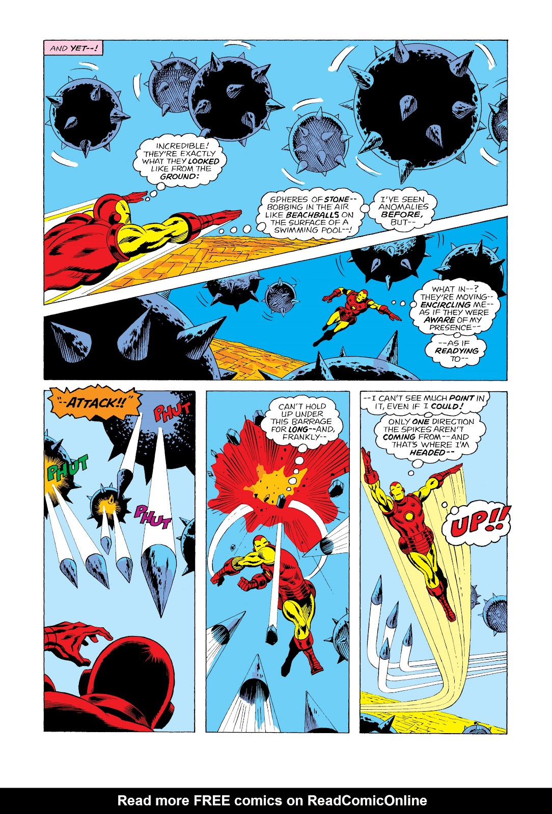 Read online Marvel Masterworks: The Invincible Iron Man comic -  Issue # TPB 11 (Part 2) - 30