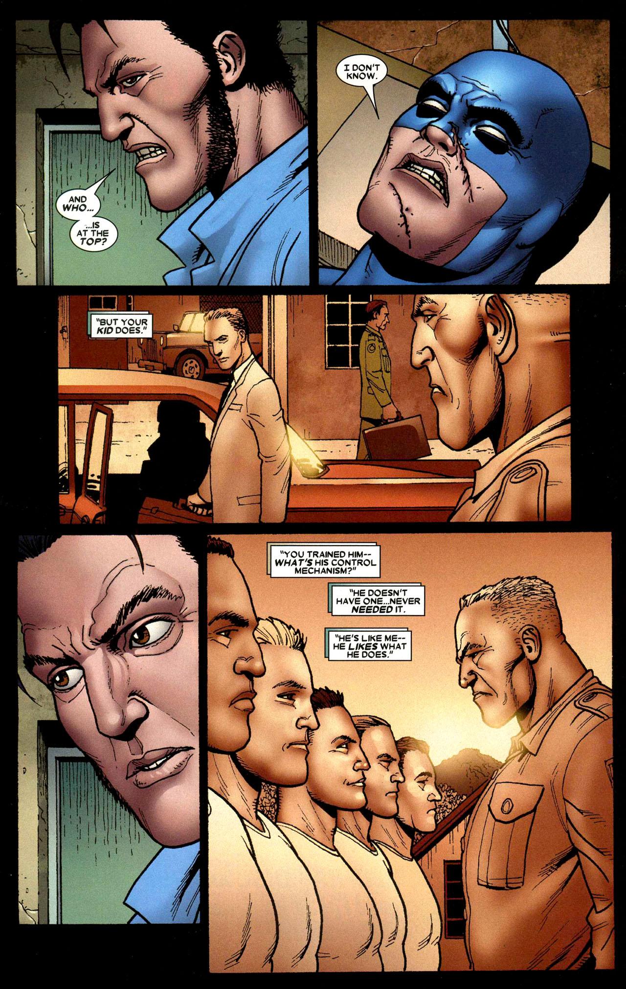 Read online Wolverine: Origins comic -  Issue #15 - 16