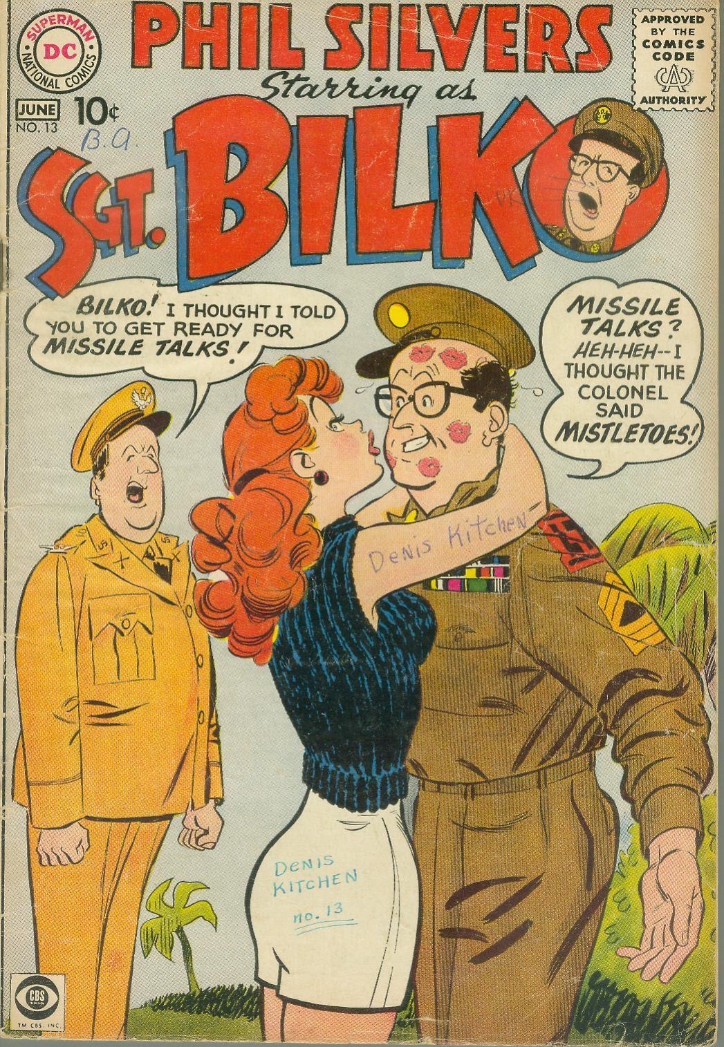 Sergeant Bilko issue 13 - Page 1