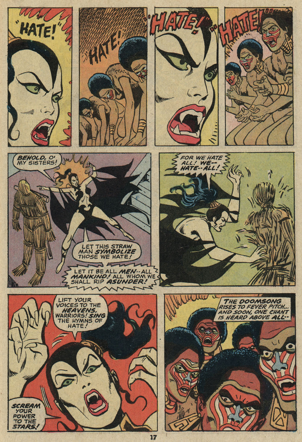 Read online Shanna, the She-Devil (1972) comic -  Issue #5 - 13