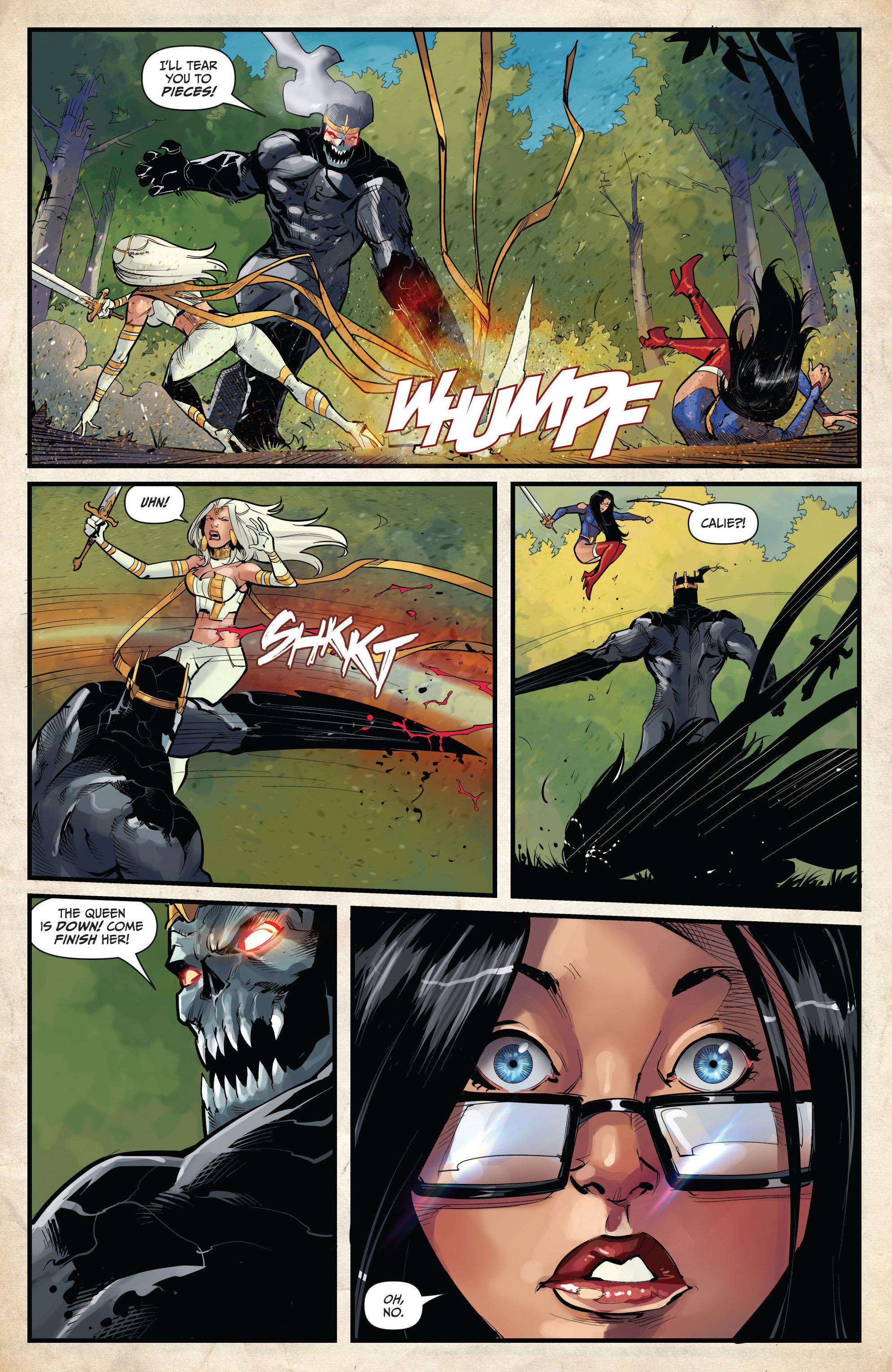 Read online Grimm Fairy Tales vs. Wonderland comic -  Issue #4 - 12