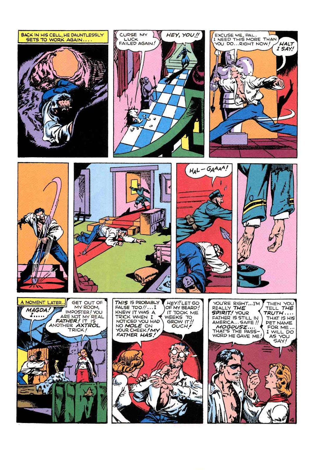 Read online Will Eisner's The Spirit Archives comic -  Issue # TPB 1 (Part 2) - 73