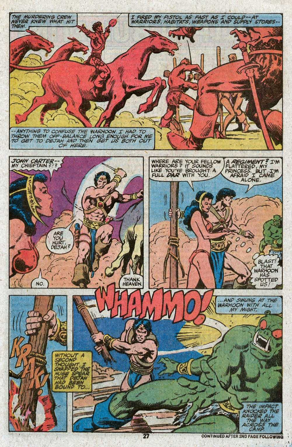 John Carter Warlord of Mars issue 27 - Page 29