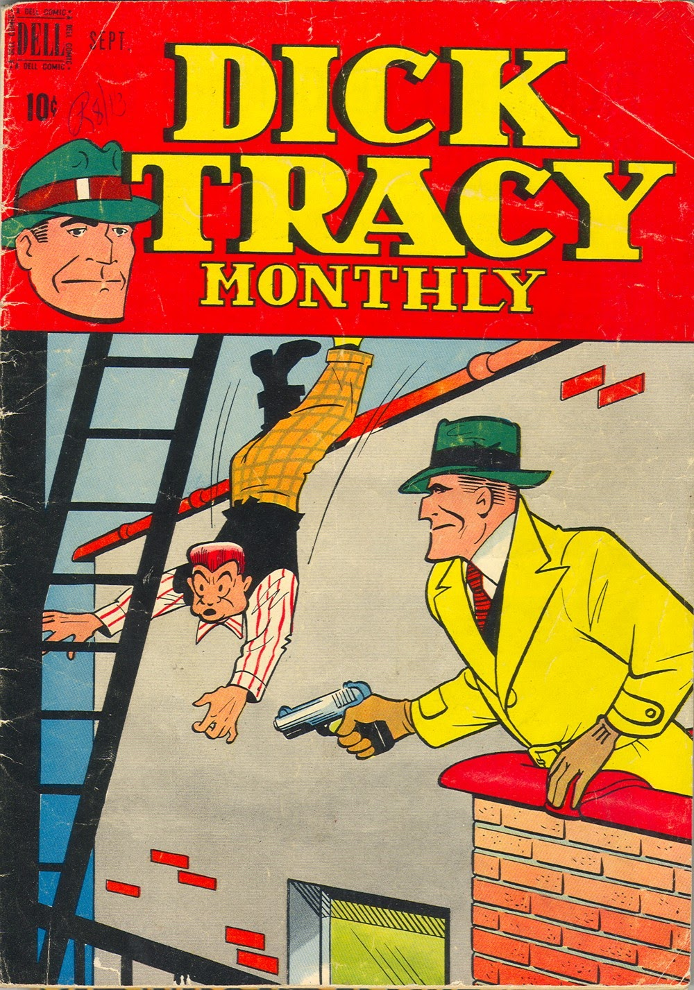 Dick Tracy Monthly 9 Page 1