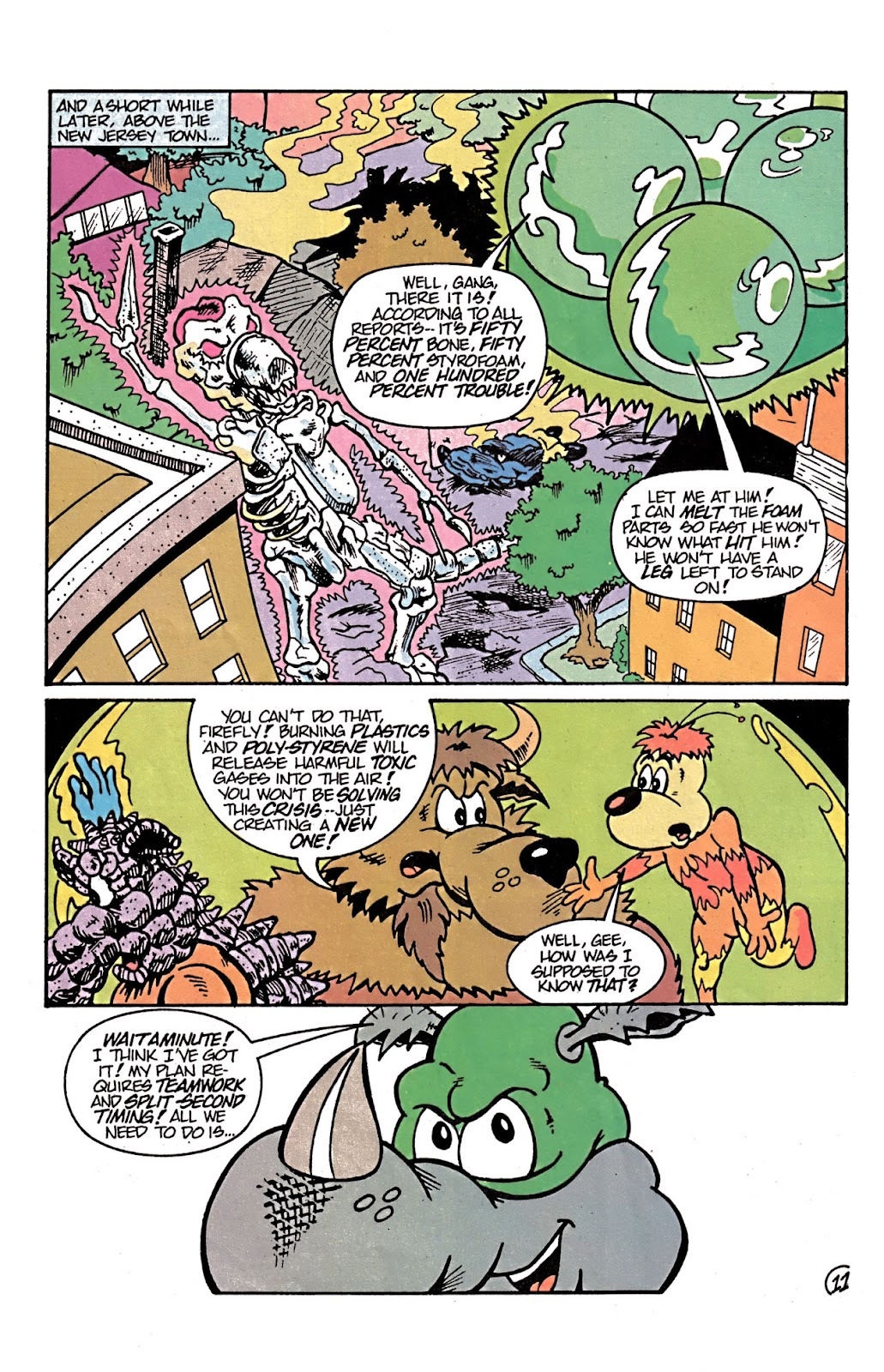 Read online Conservation Corps comic -  Issue #3 - 23
