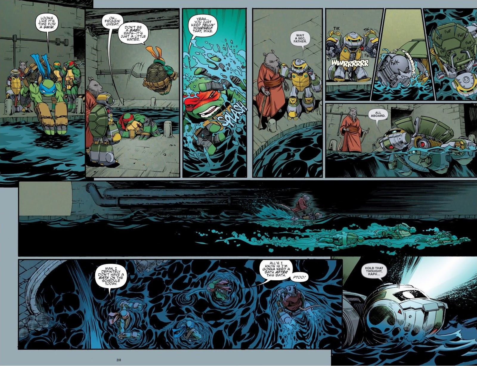 Read online Teenage Mutant Ninja Turtles: The IDW Collection comic -  Issue # TPB 6 (Part 3) - 7