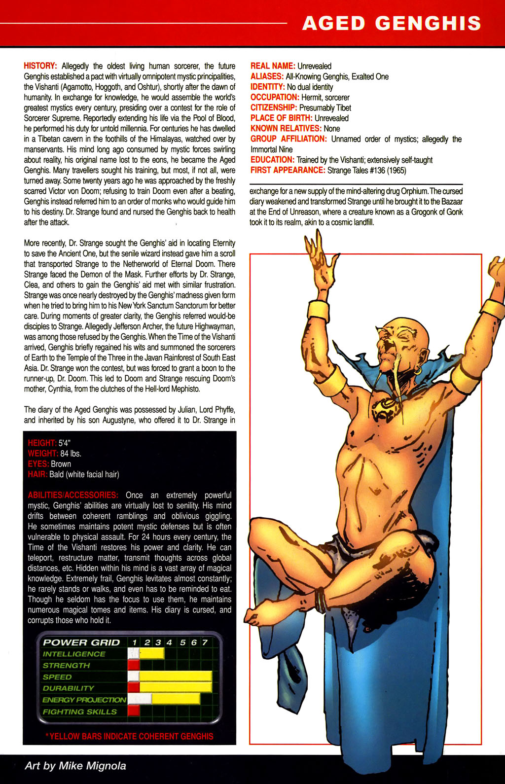 Read online All-New Official Handbook of the Marvel Universe A to Z comic -  Issue #1 - 11