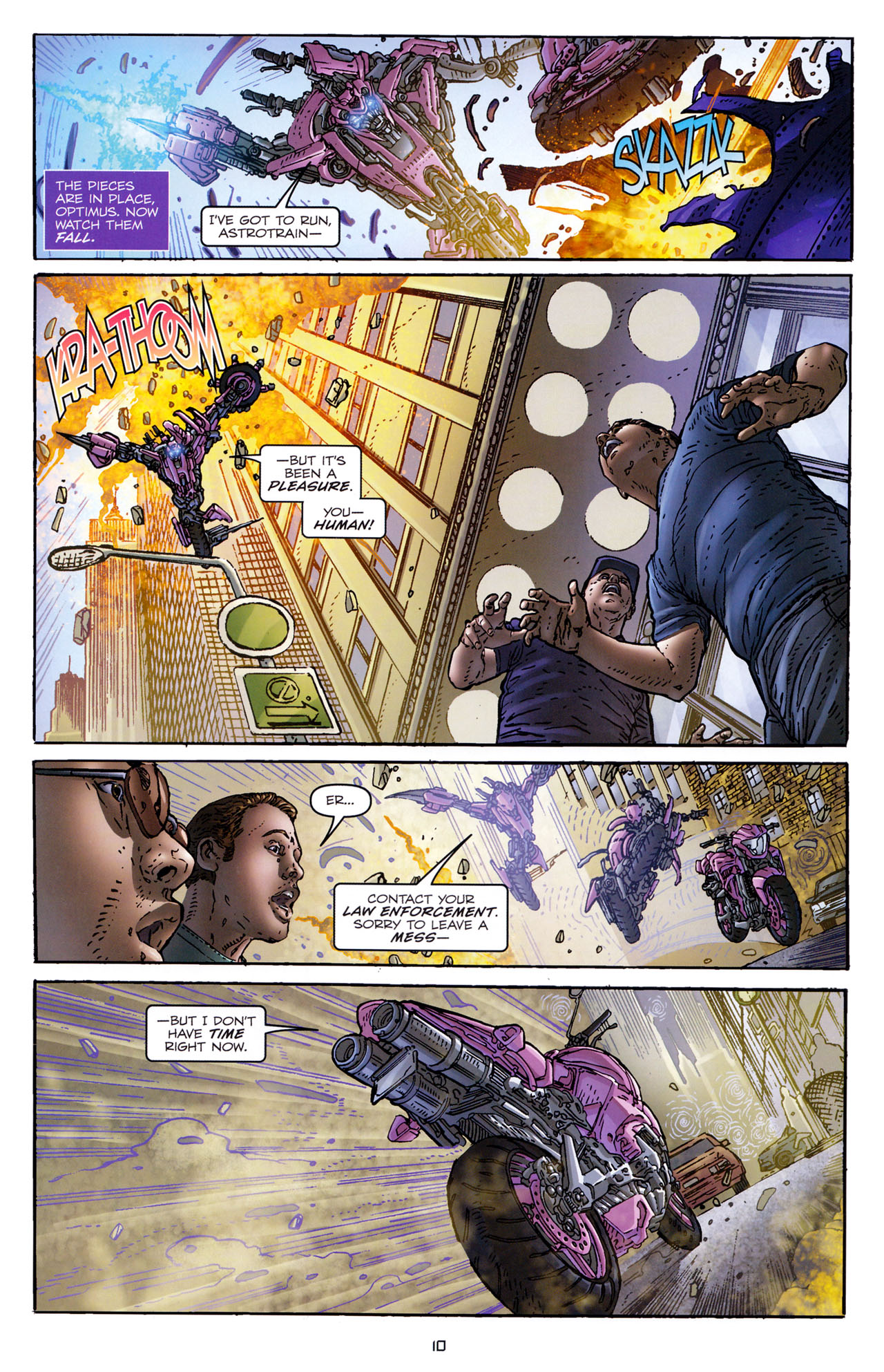 Read online Transformers: Dark of the Moon Rising Storm comic -  Issue #4 - 11