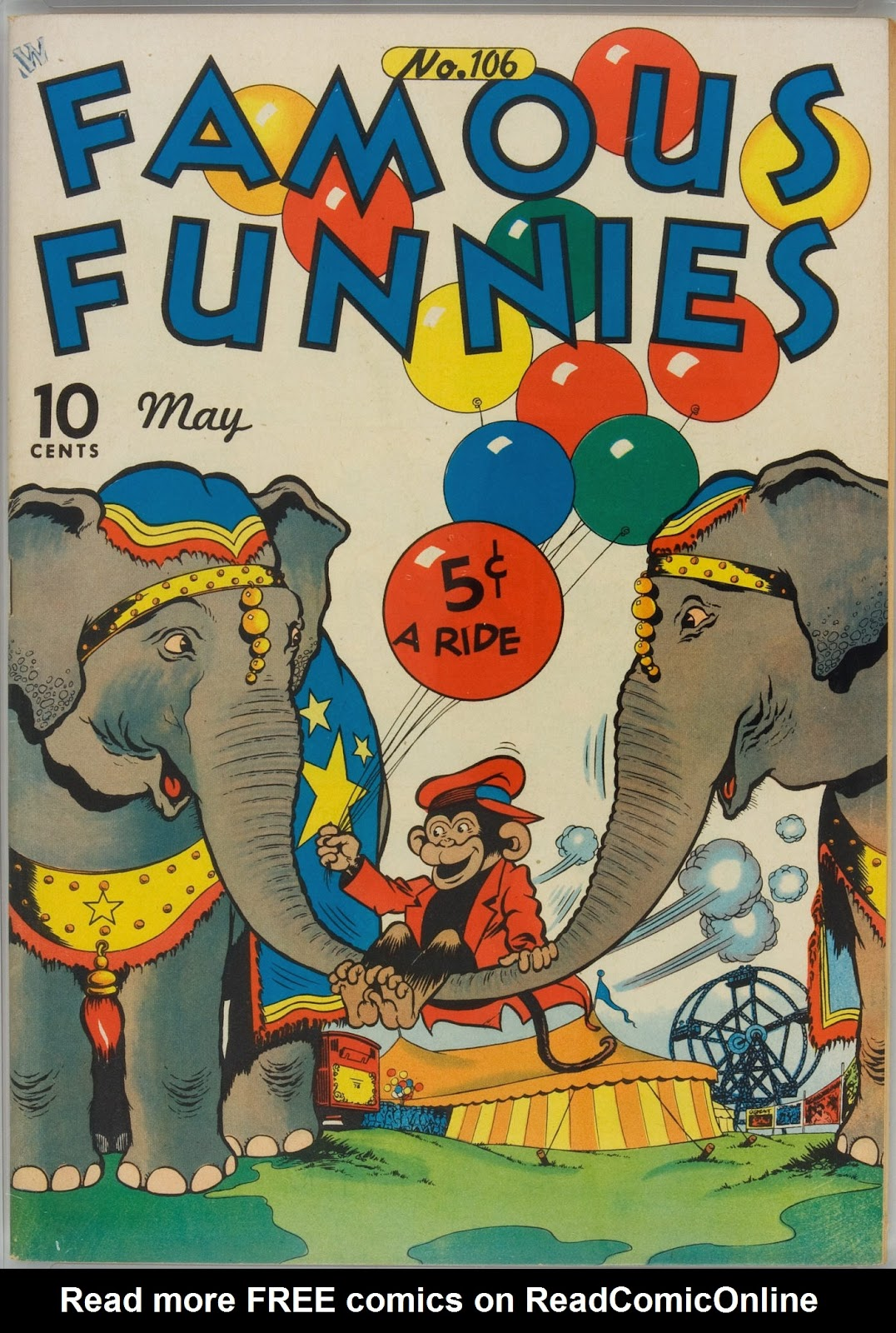 Read online Famous Funnies comic -  Issue #106 - 1