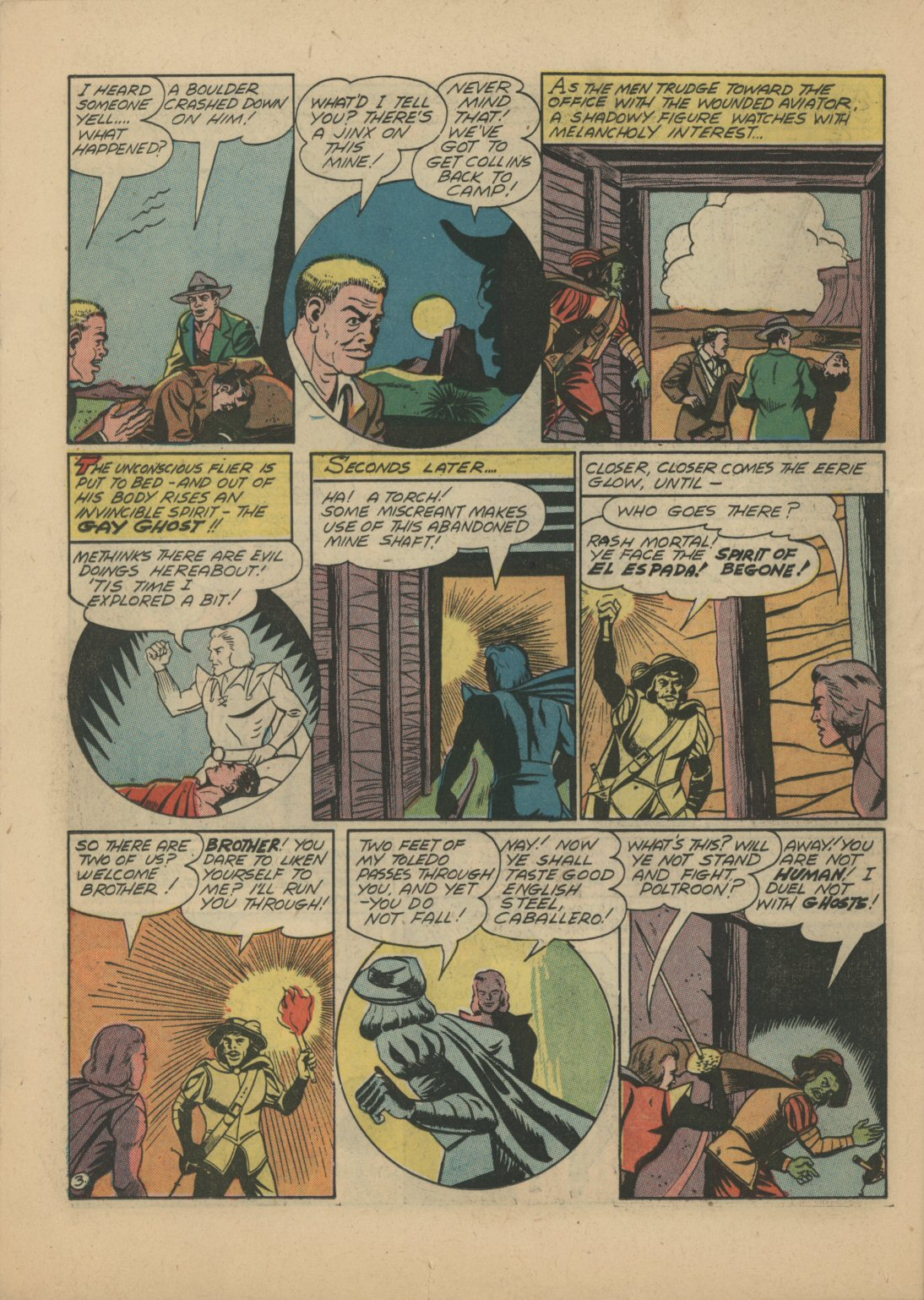 Read online Sensation (Mystery) Comics comic -  Issue #21 - 25