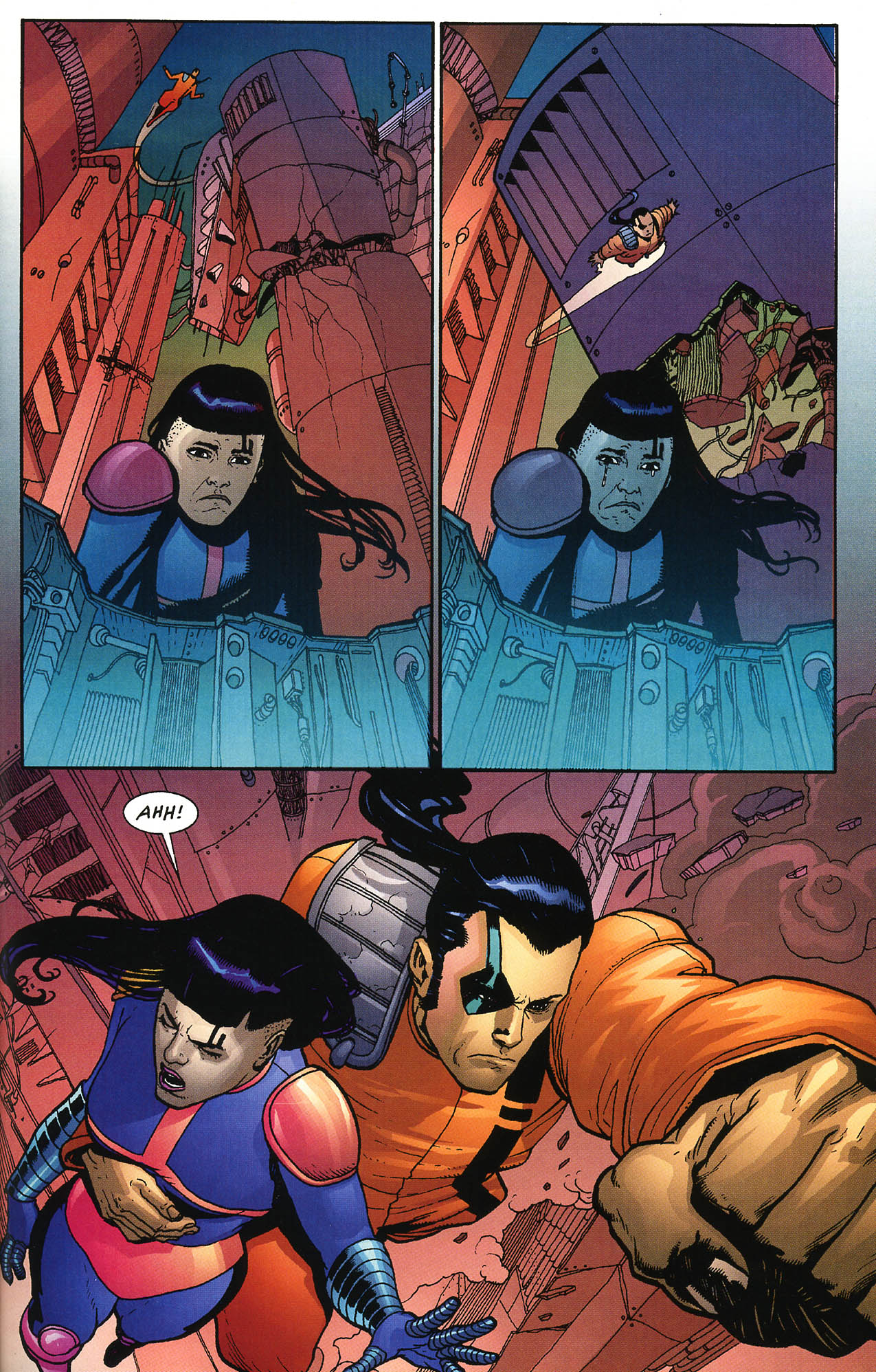 Read online JLA/Haven: Arrival comic -  Issue # Full - 38