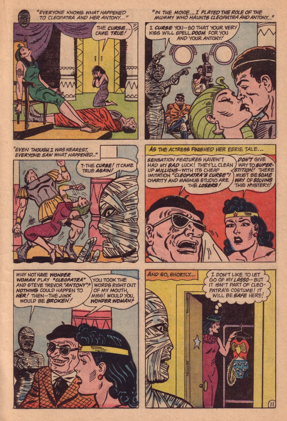 Read online Wonder Woman (1942) comic -  Issue #161 - 17