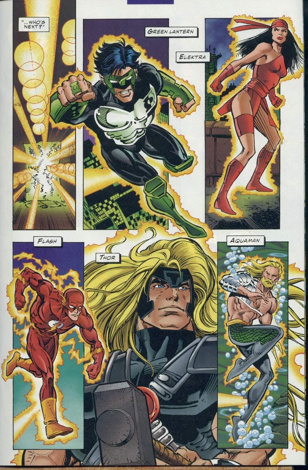 Read online DC Versus Marvel Comics comic -  Issue #1 - 19