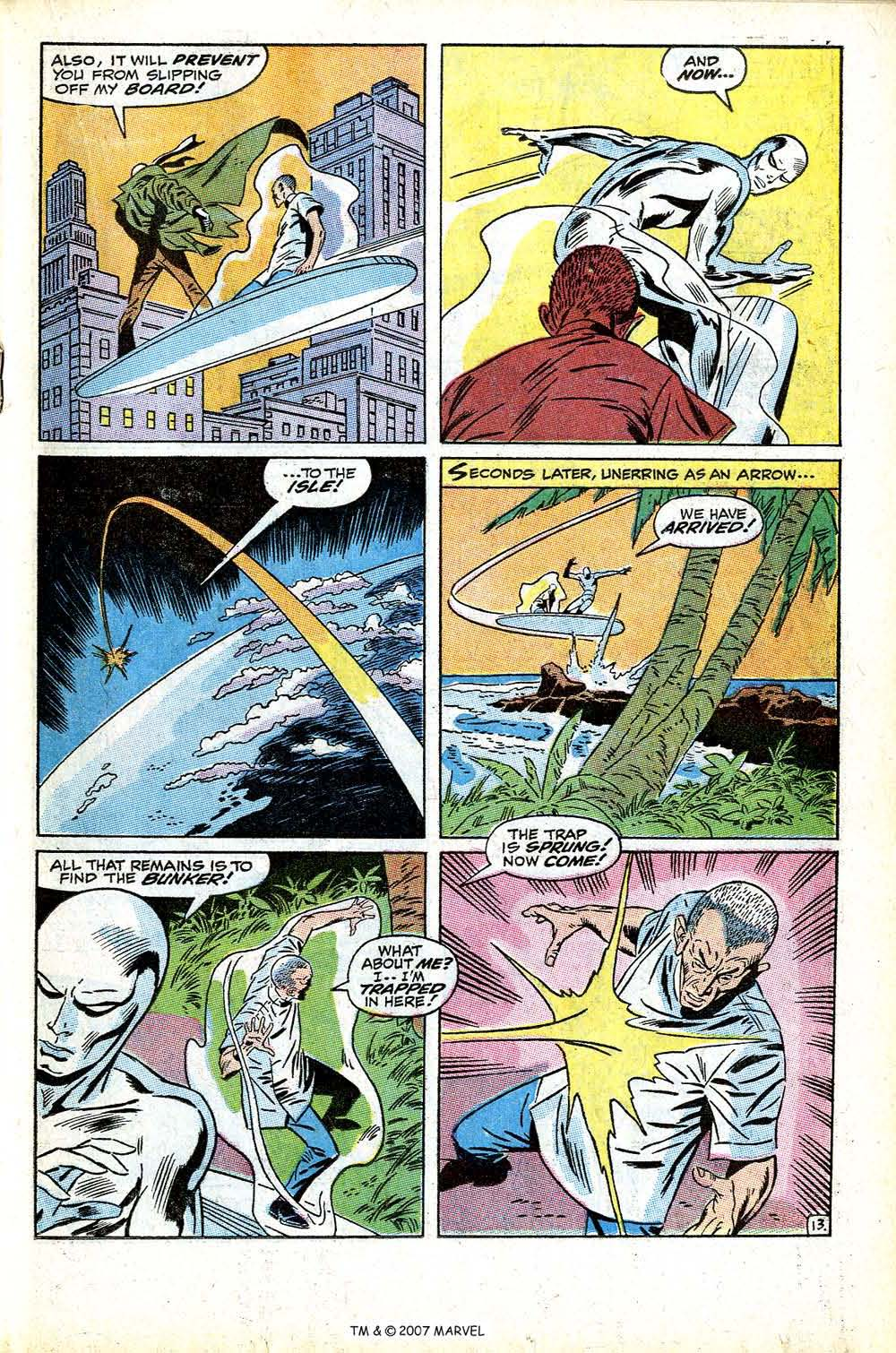 Read online Silver Surfer (1968) comic -  Issue #13 - 19