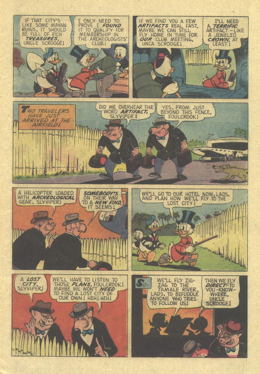 Read online Uncle Scrooge (1953) comic -  Issue #113 - 9