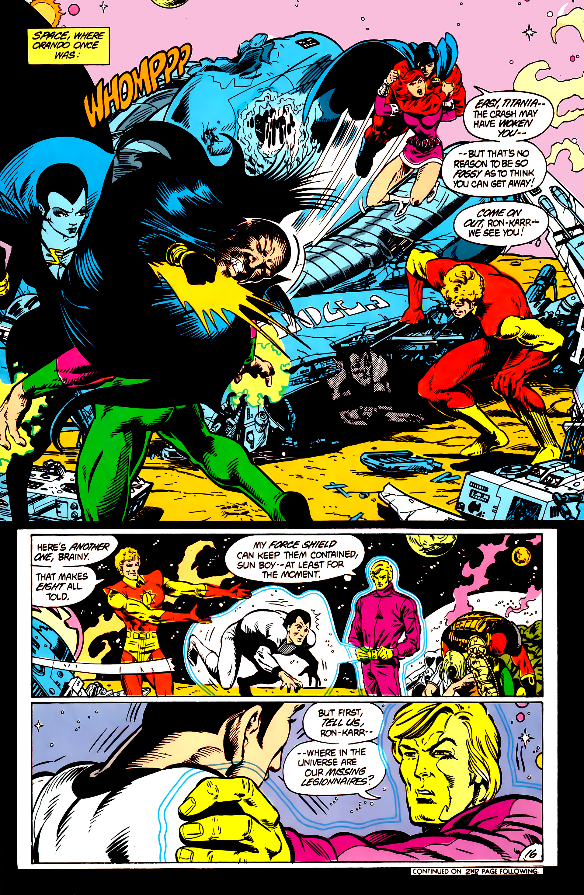Legion of Super-Heroes (1984) 5 Page 17