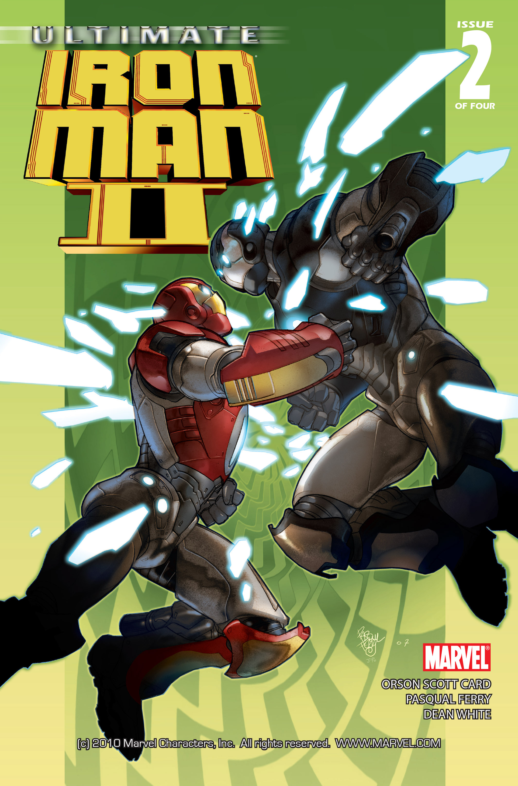 Read online Ultimate Iron Man II comic -  Issue #2 - 1