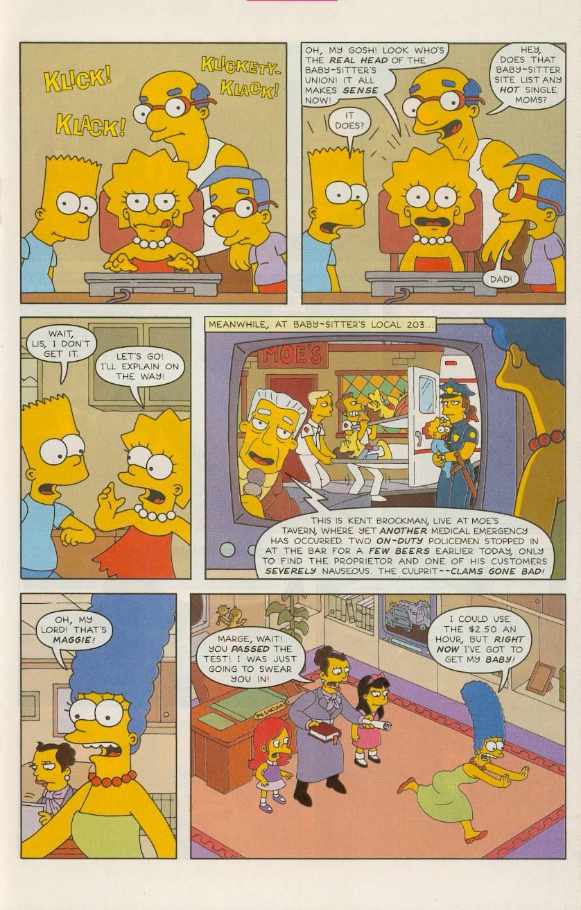 Read online Simpsons Comics comic -  Issue #49 - 18