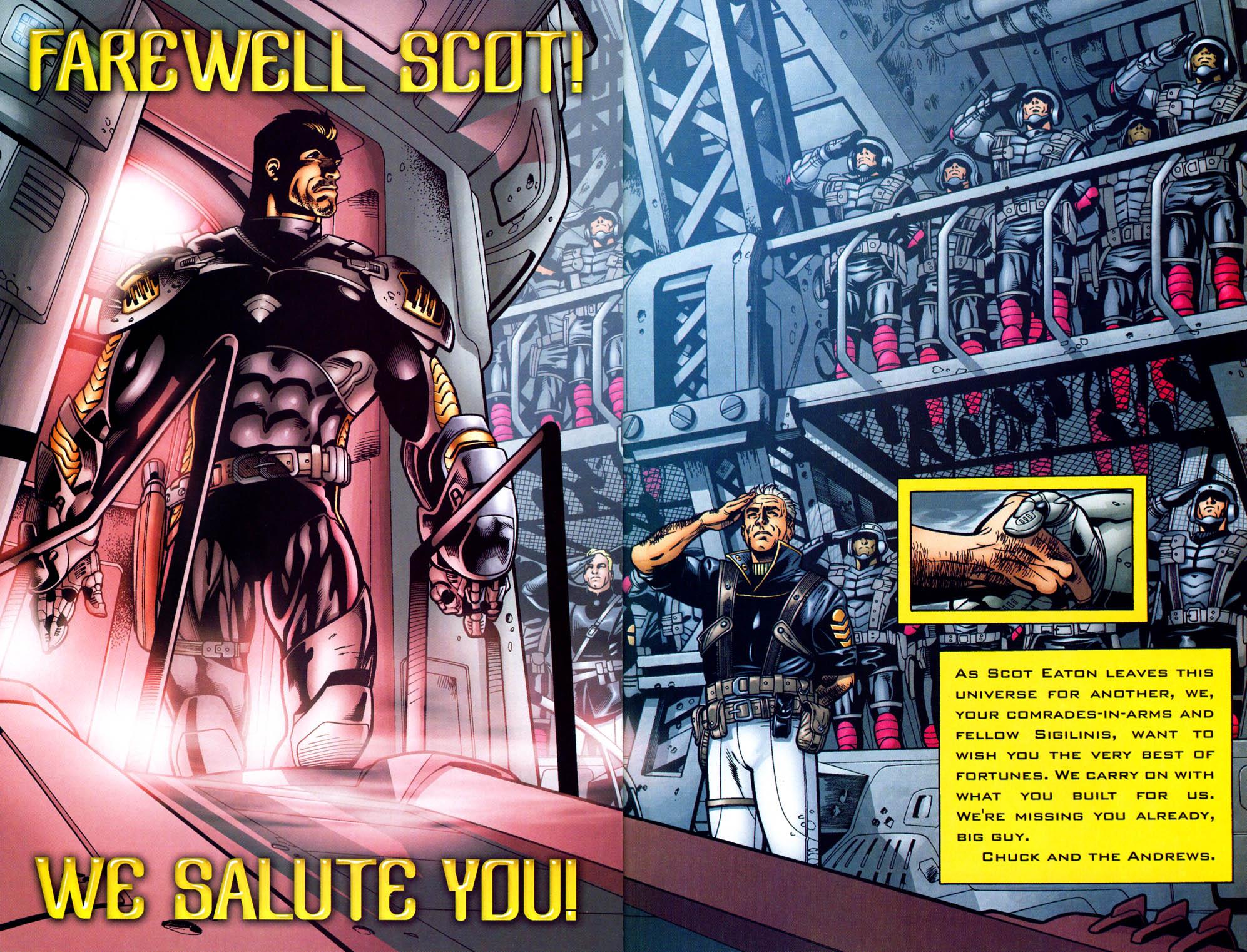 Read online Sigil (2000) comic -  Issue #35 - 23