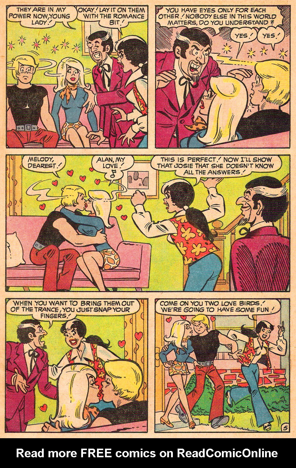 Read online She's Josie comic -  Issue #61 - 7