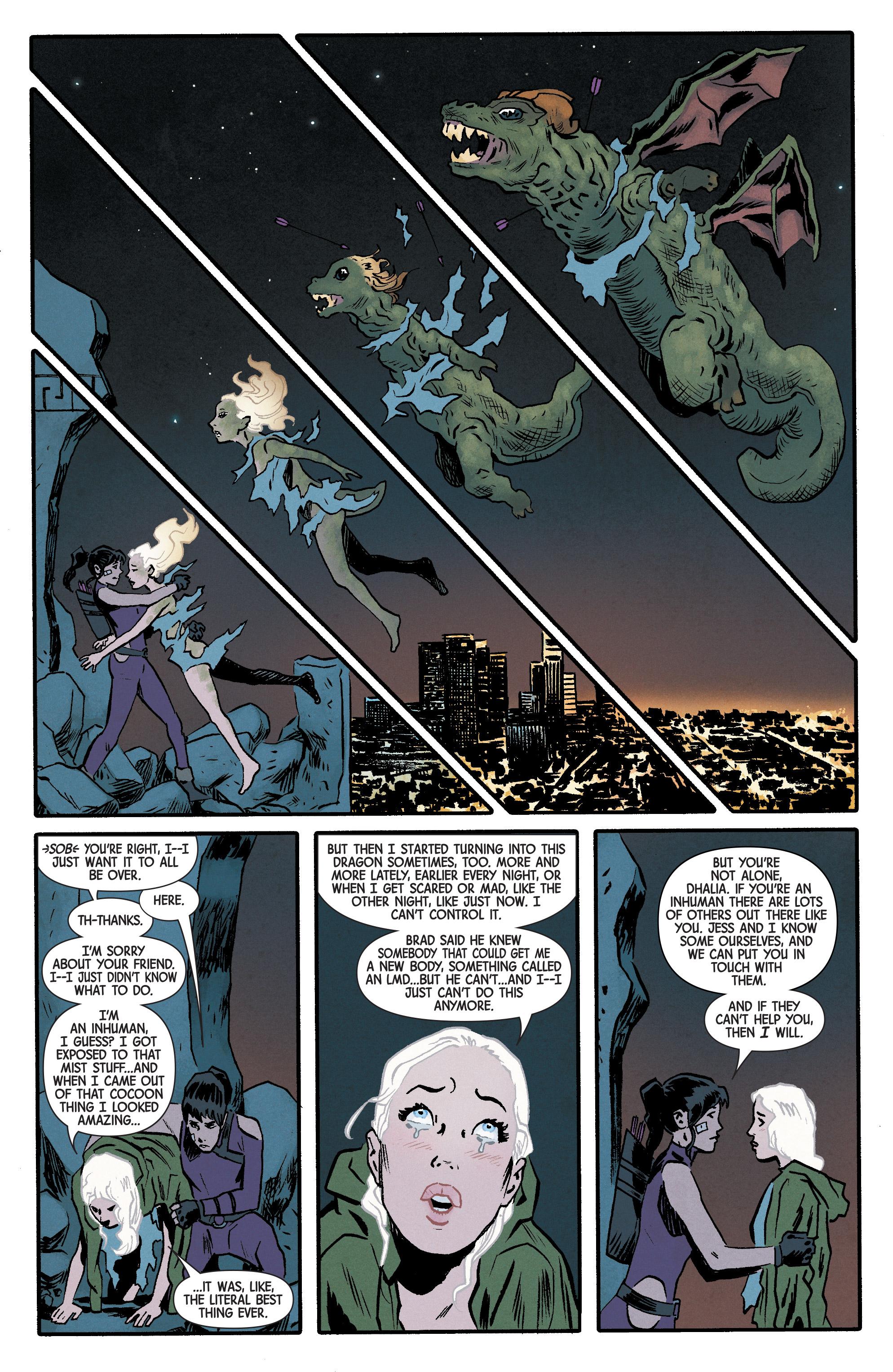 Read online Hawkeye (2016) comic -  Issue #6 - 18