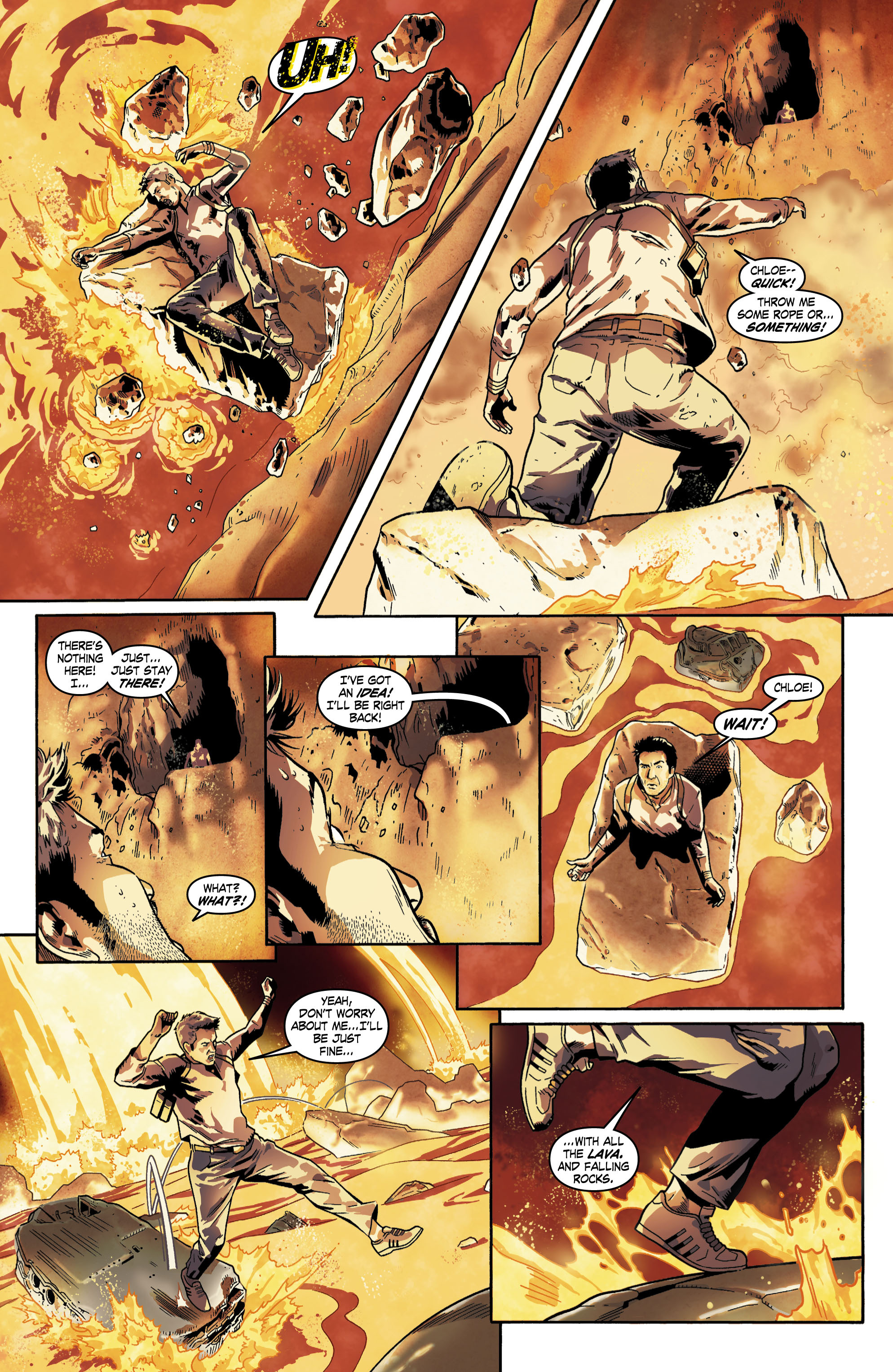 Read online Uncharted comic -  Issue #6 - 10