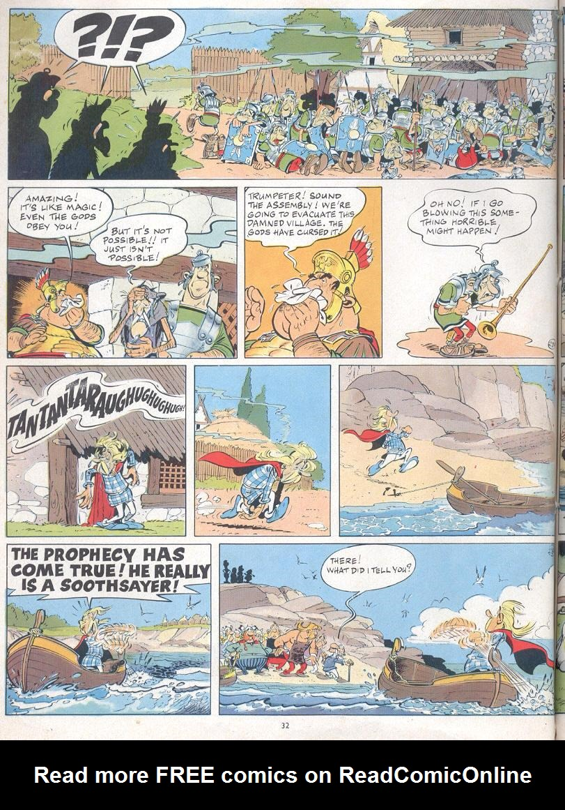 Read online Asterix comic -  Issue #19 - 29