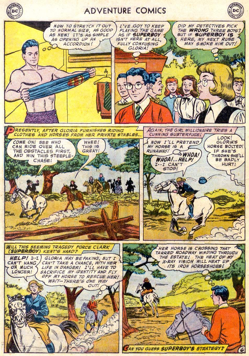 Read online Adventure Comics (1938) comic -  Issue #246 - 8