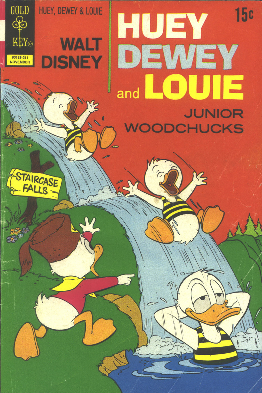 Huey, Dewey, and Louie Junior Woodchucks 17 Page 1
