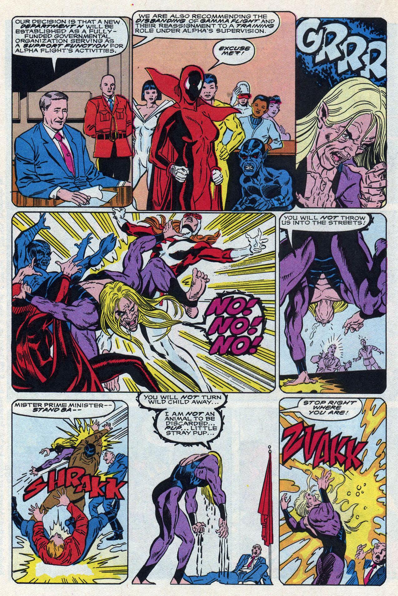 Read online Alpha Flight (1983) comic -  Issue #87 - 19