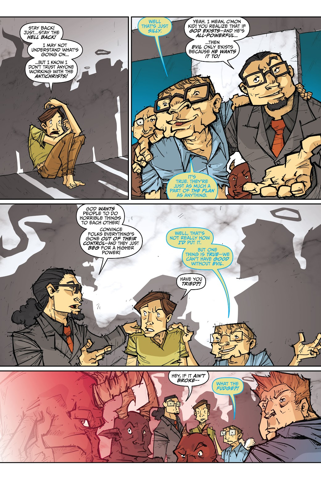 Read online The End Times of Bram and Ben comic -  Issue #4 - 13