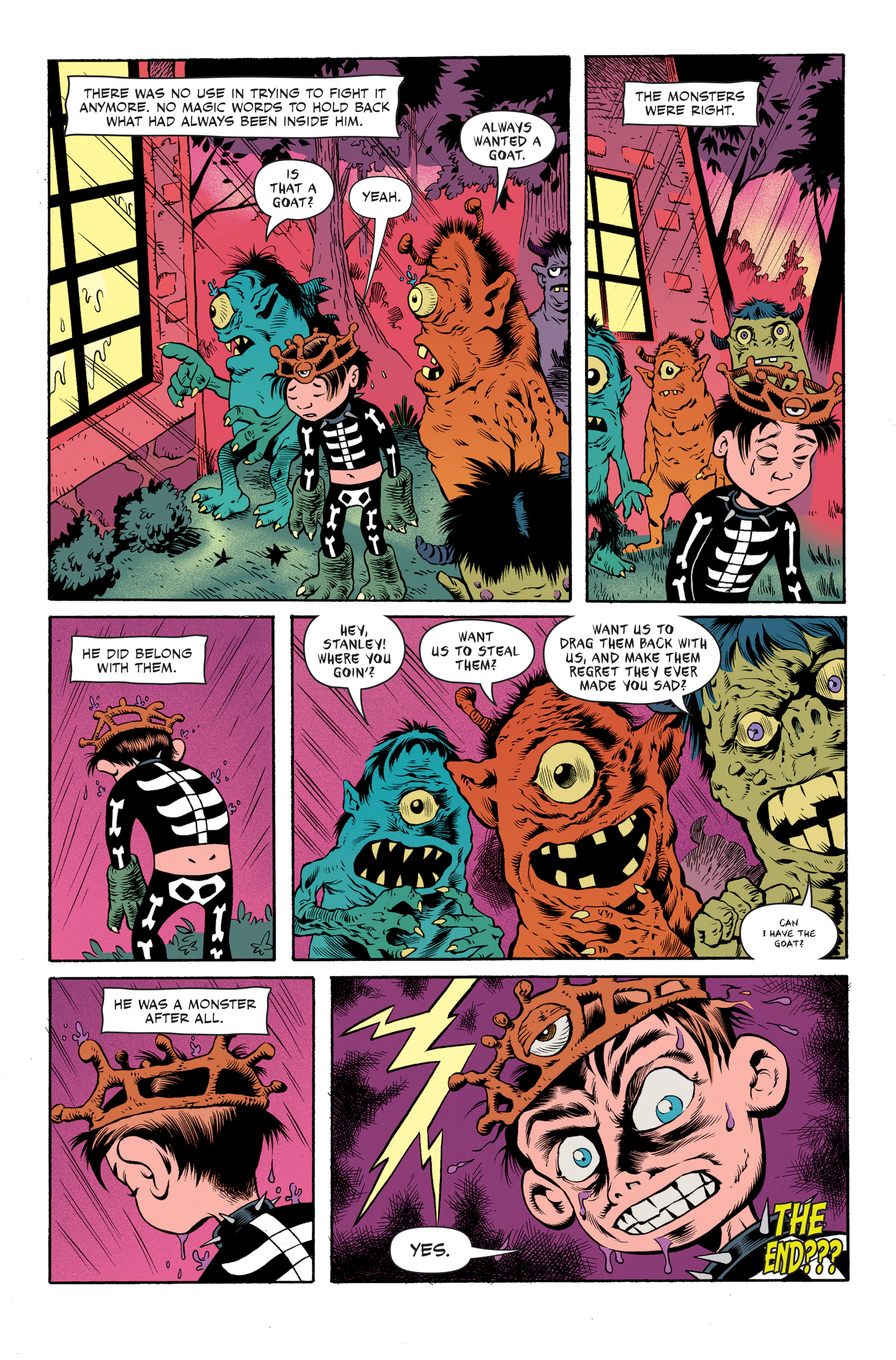 Read online Spook House comic -  Issue #5 - 24
