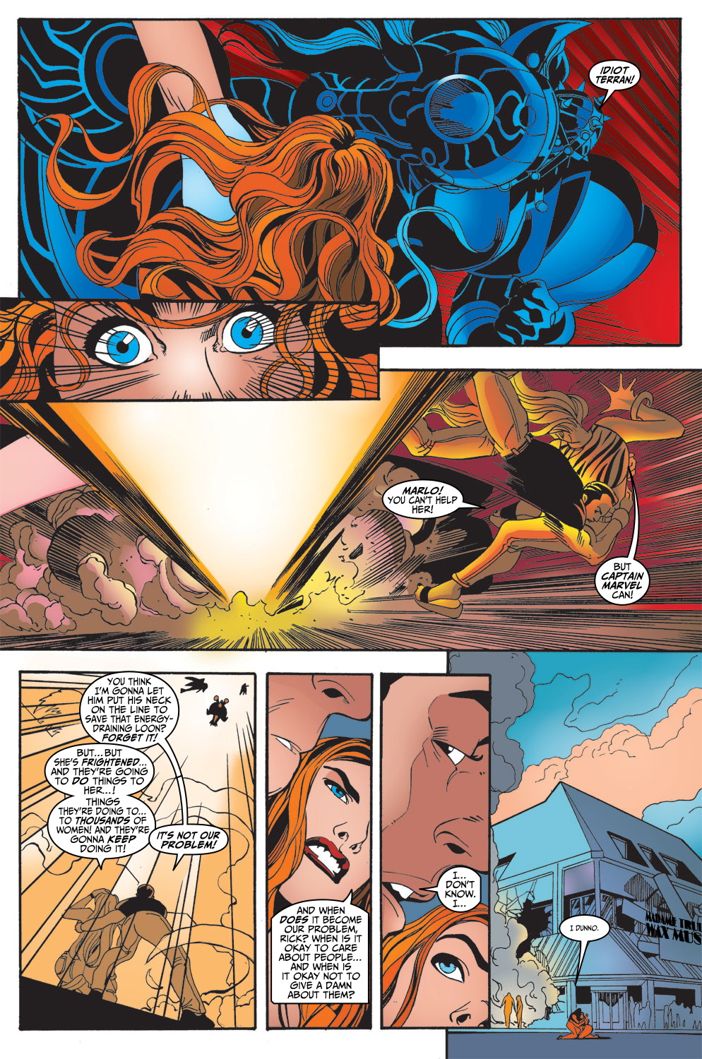 Captain Marvel (1999) 13 Page 23